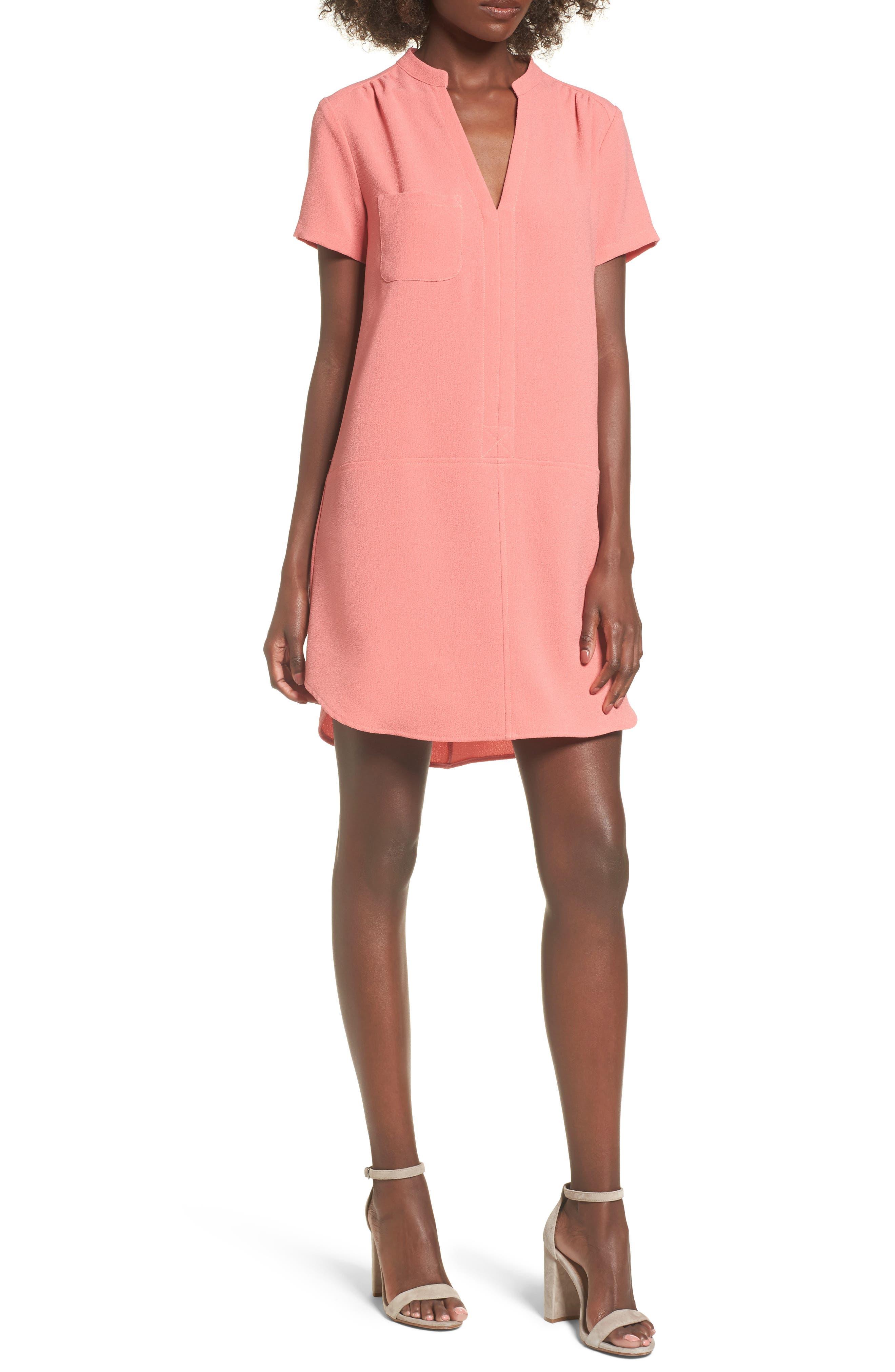 Hailey Crepe Dress,                             Main thumbnail 19, color,
