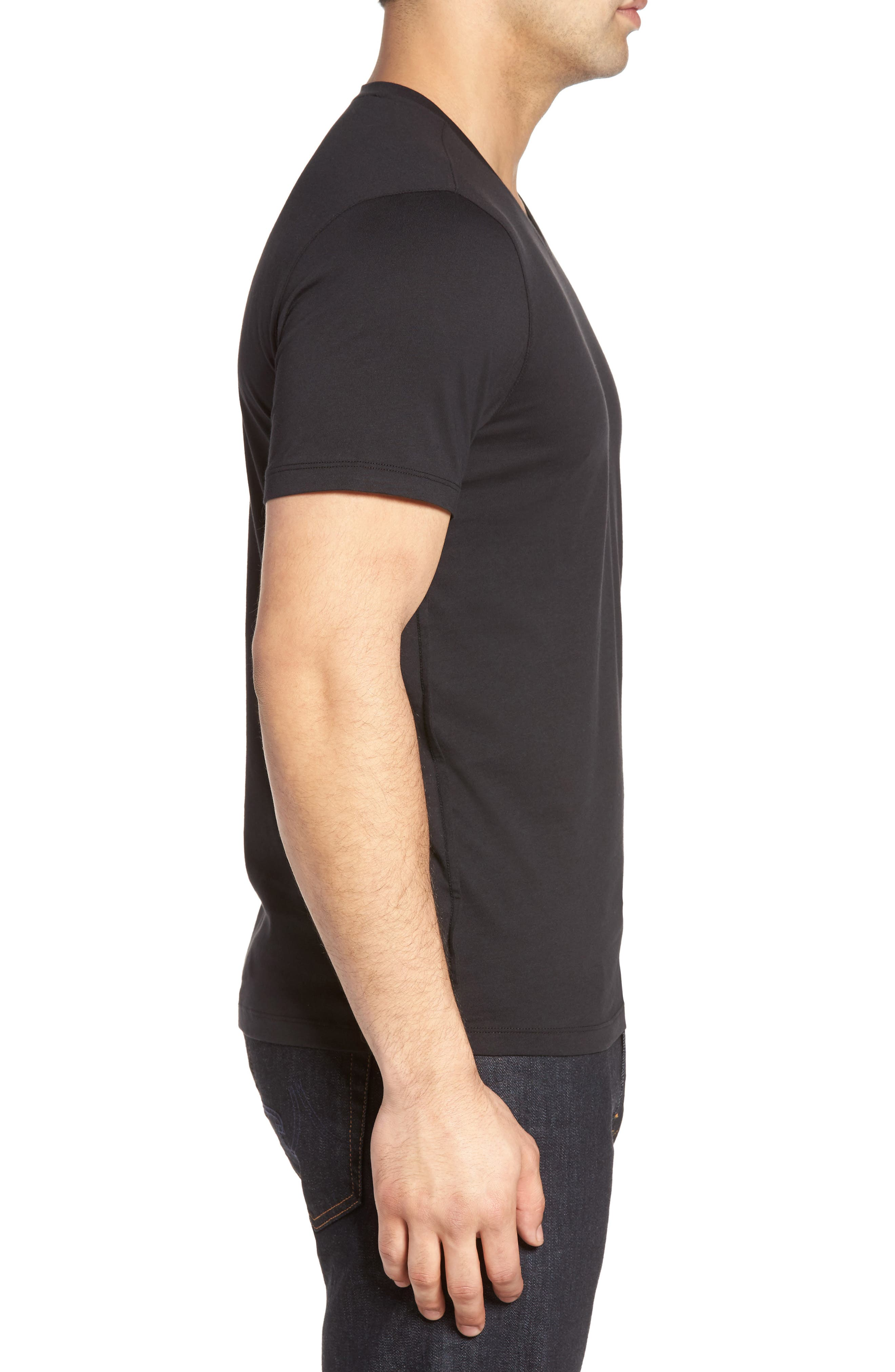 Mercer Jersey T-Shirt,                             Alternate thumbnail 3, color,                             001