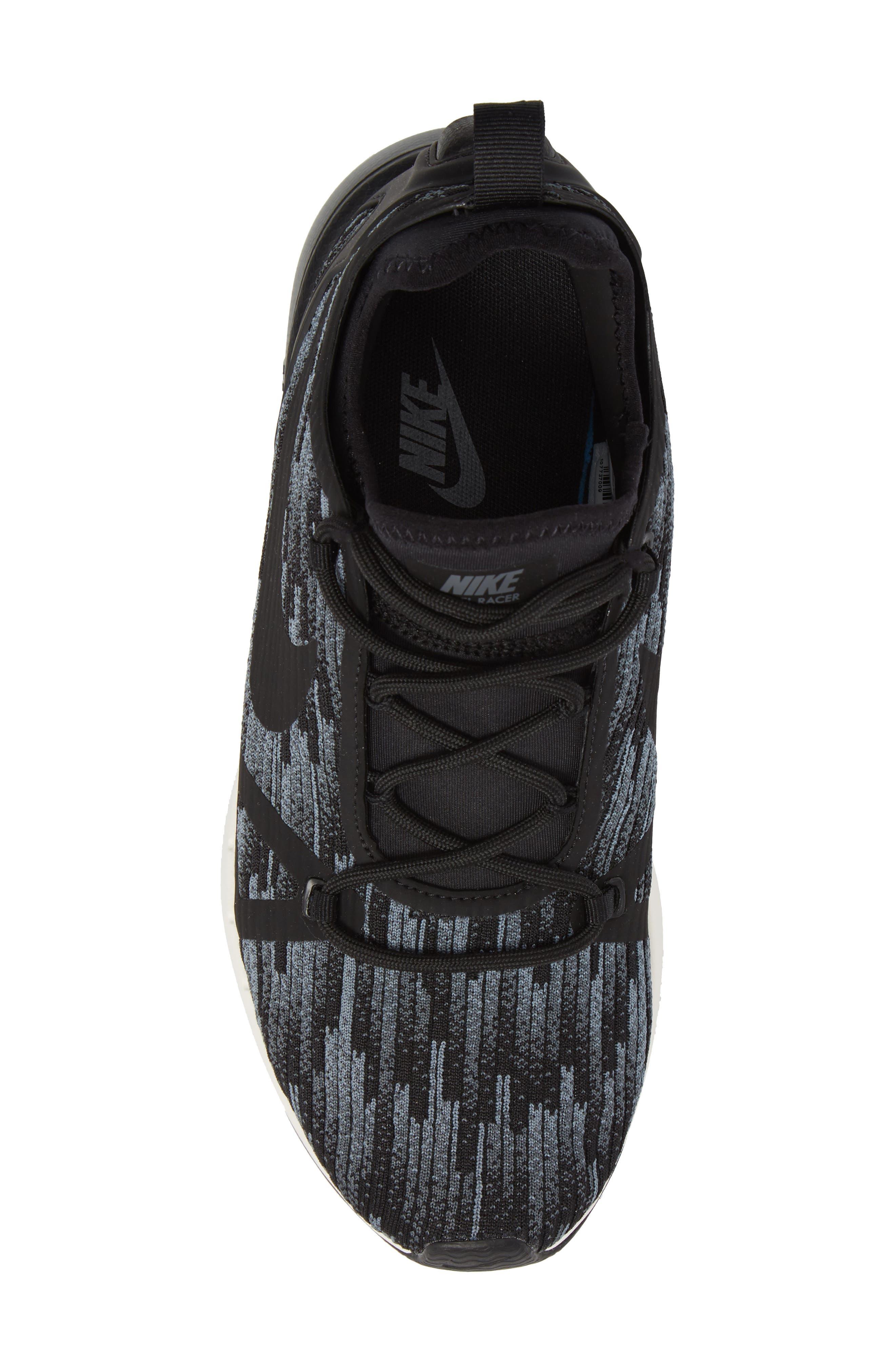 Duel Racer SE Knit Sneaker,                             Alternate thumbnail 5, color,                             020