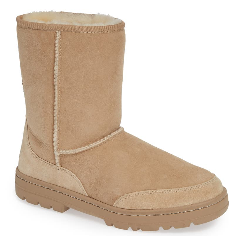 Check Out UGG Ultra Revival Genuine Shearling Short Boot (Women) Price Check