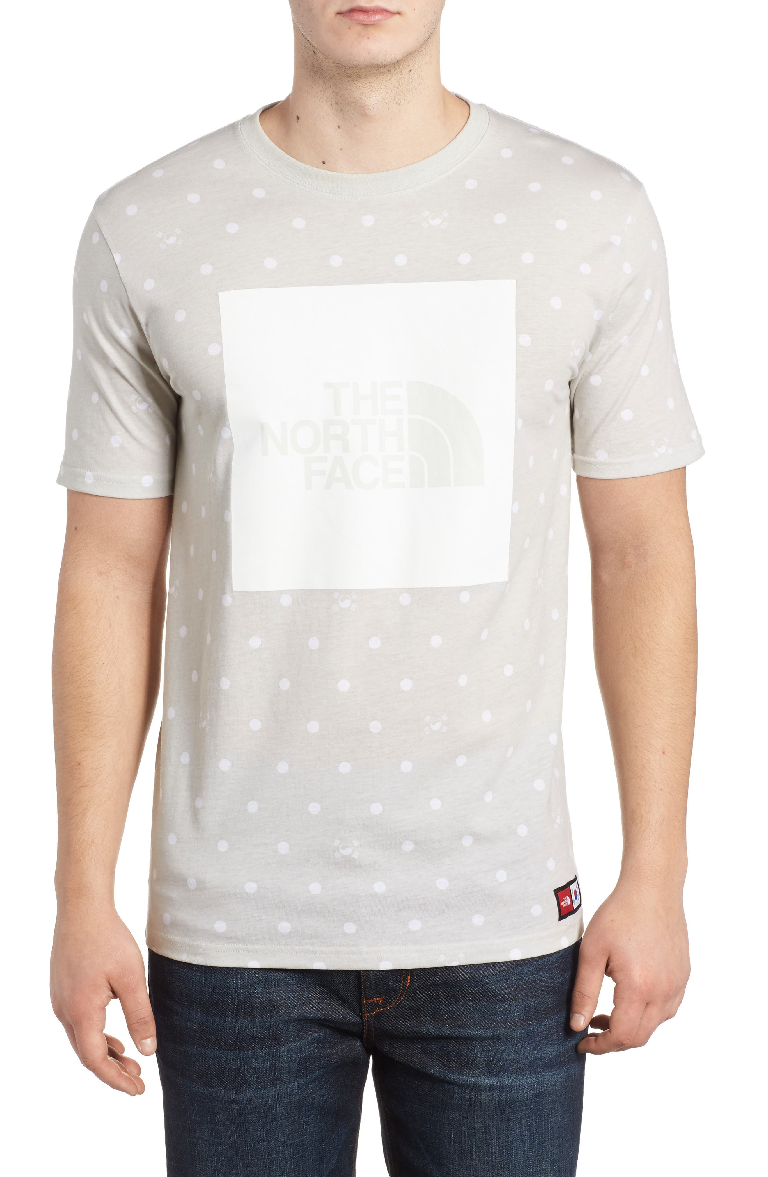 International Collection Star Print T-Shirt,                             Main thumbnail 1, color,                             030