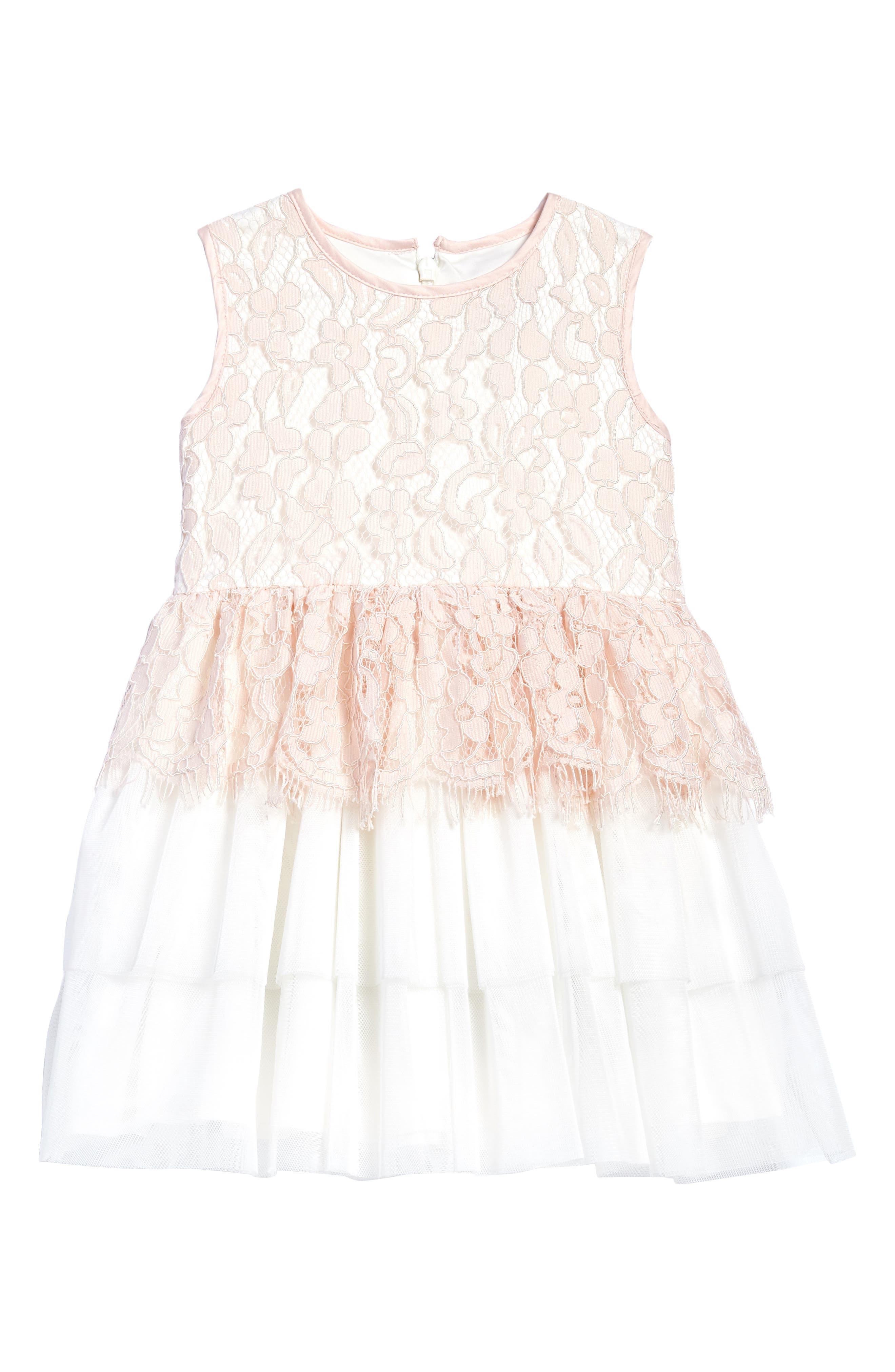 Lace Dress,                             Main thumbnail 1, color,                             695