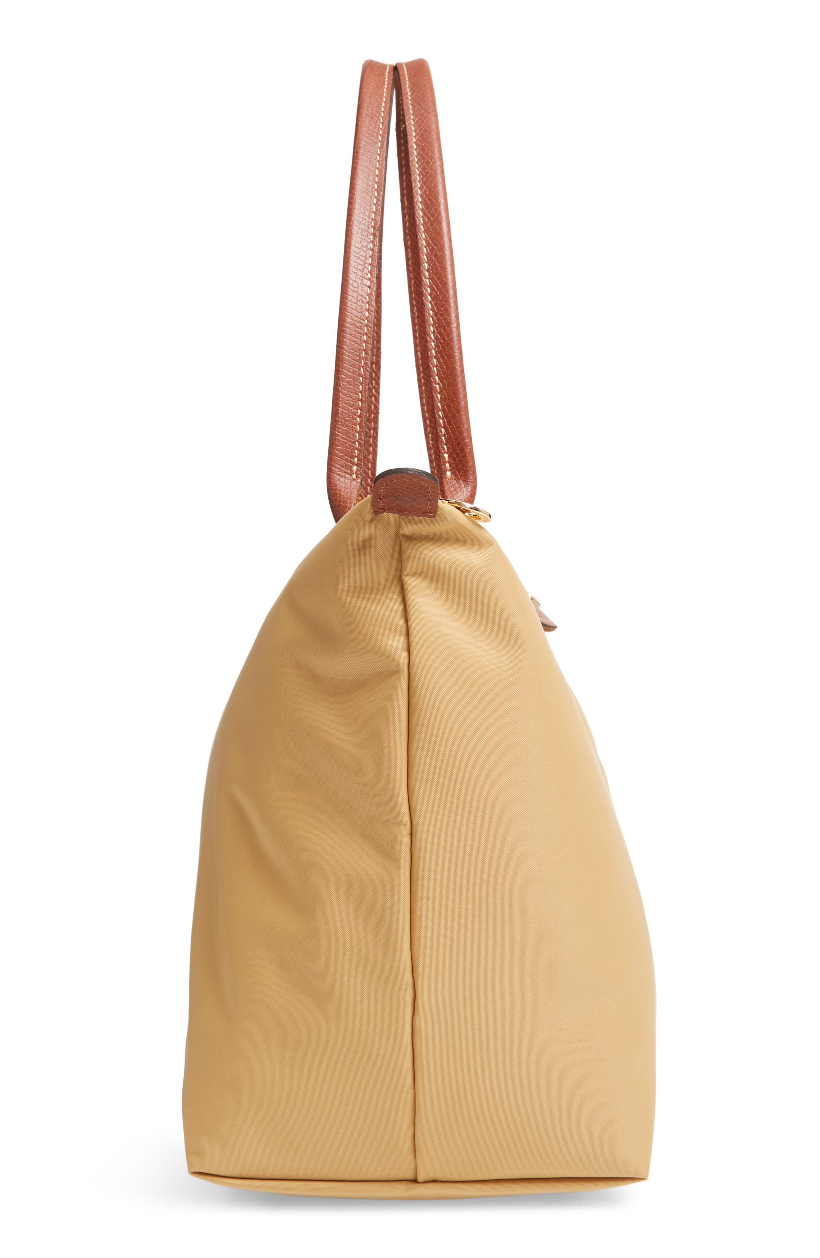 'Large Le Pliage' Tote,                             Alternate thumbnail 5, color,                             HONEY