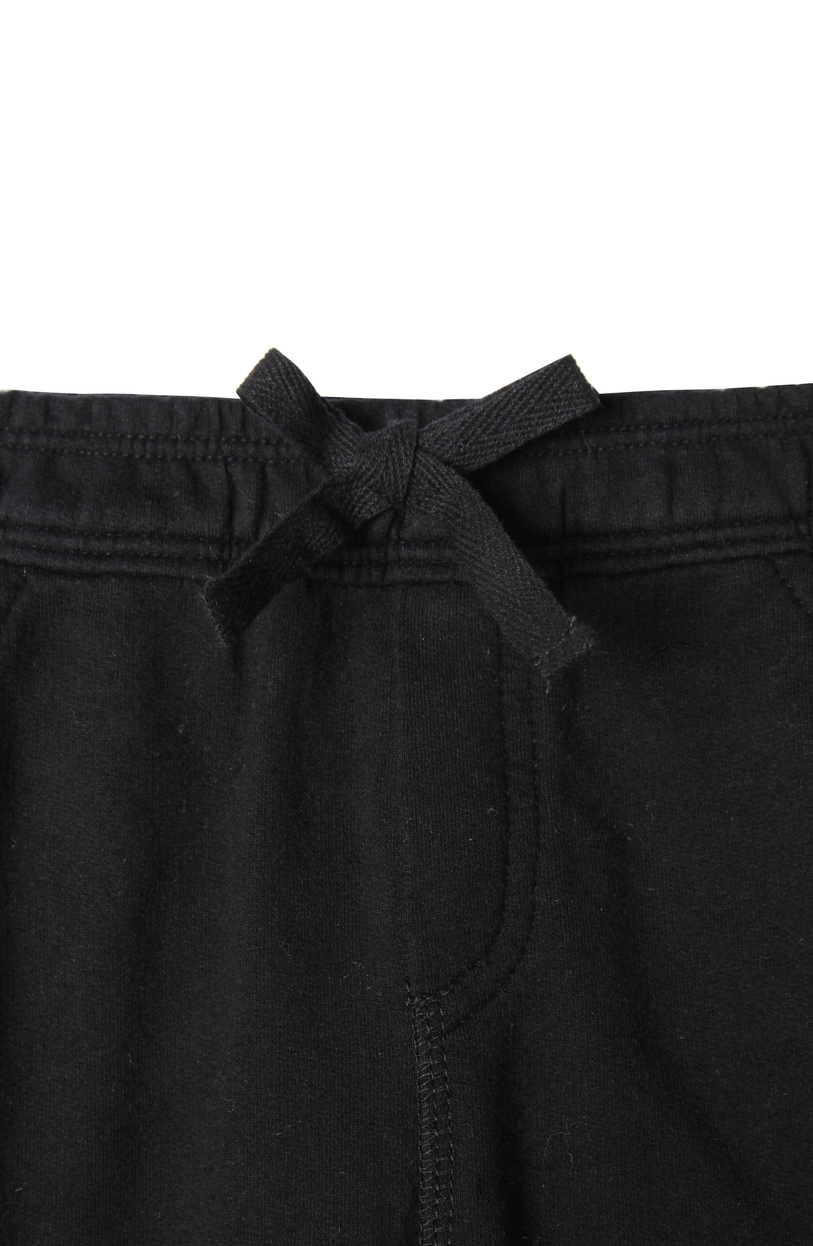 Joseph Organic Cotton Pants,                             Alternate thumbnail 2, color,                             001