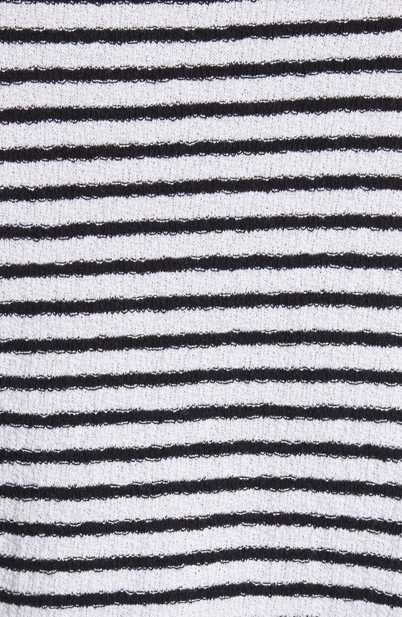 Alex Stripe Long Sleeve T-Shirt,                             Alternate thumbnail 5, color,                             112