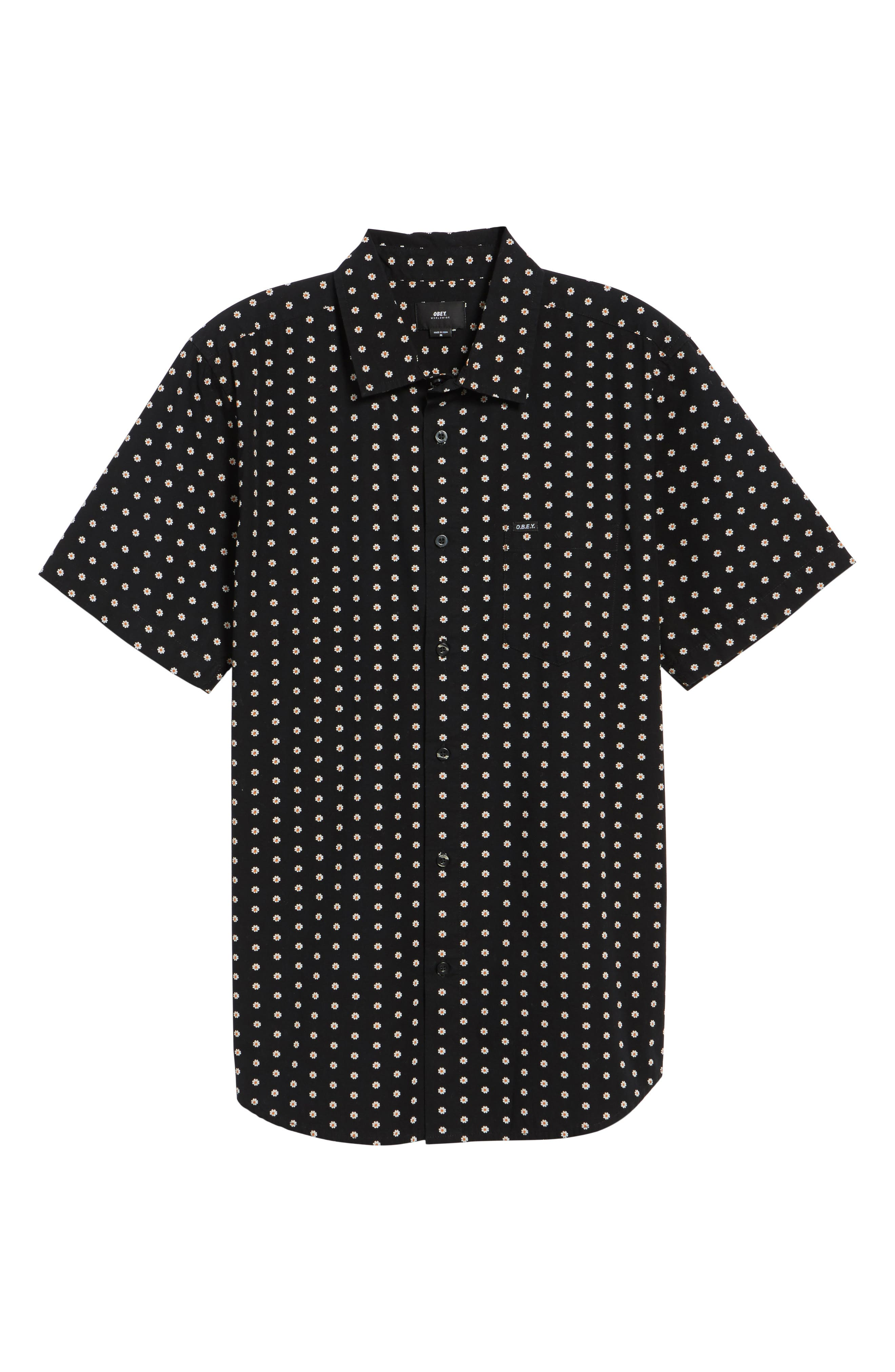 Brighton Short Sleeve Shirt,                             Alternate thumbnail 6, color,                             002