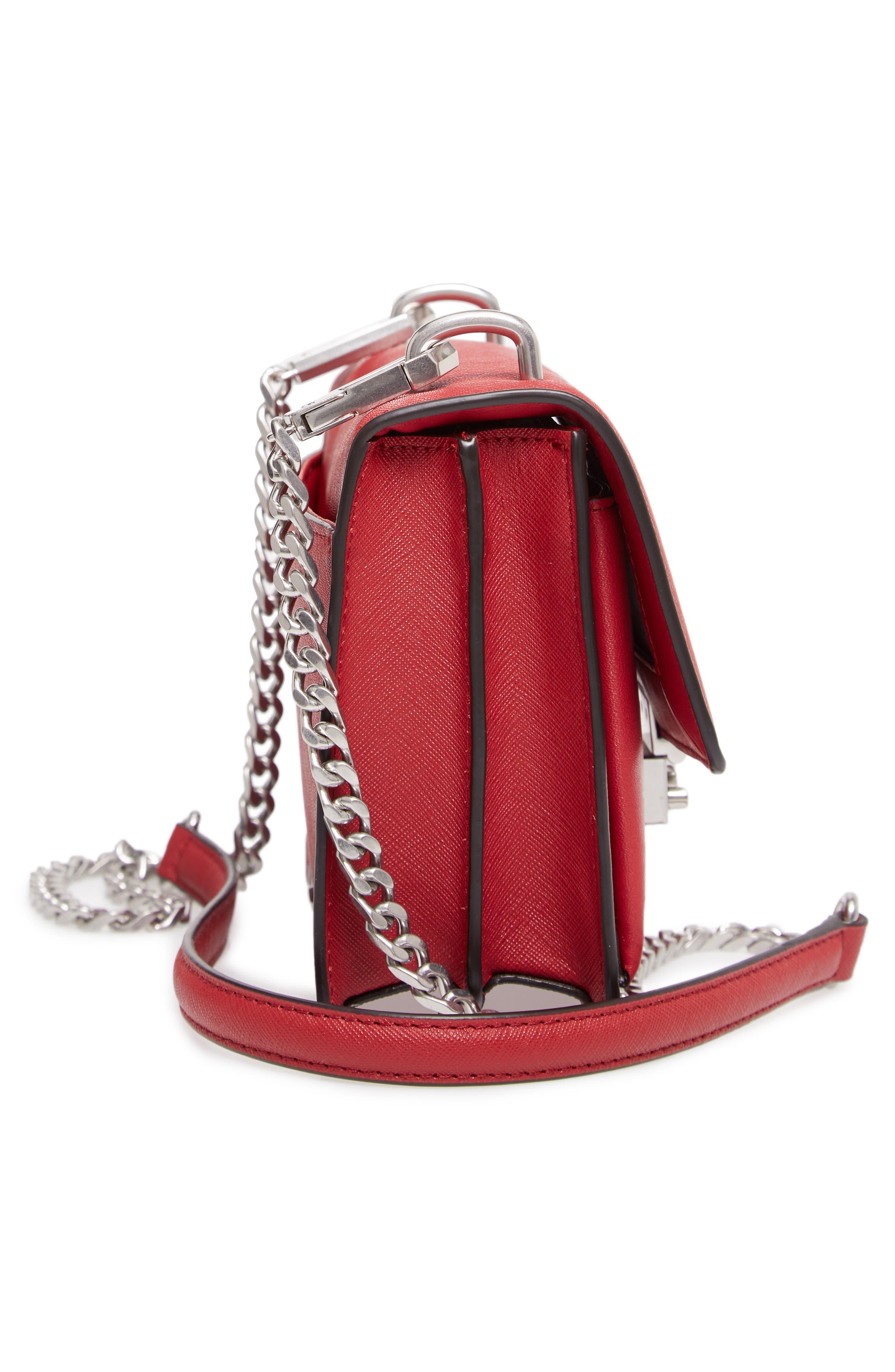 Medium Christy Leather Shoulder Bag,                             Alternate thumbnail 24, color,