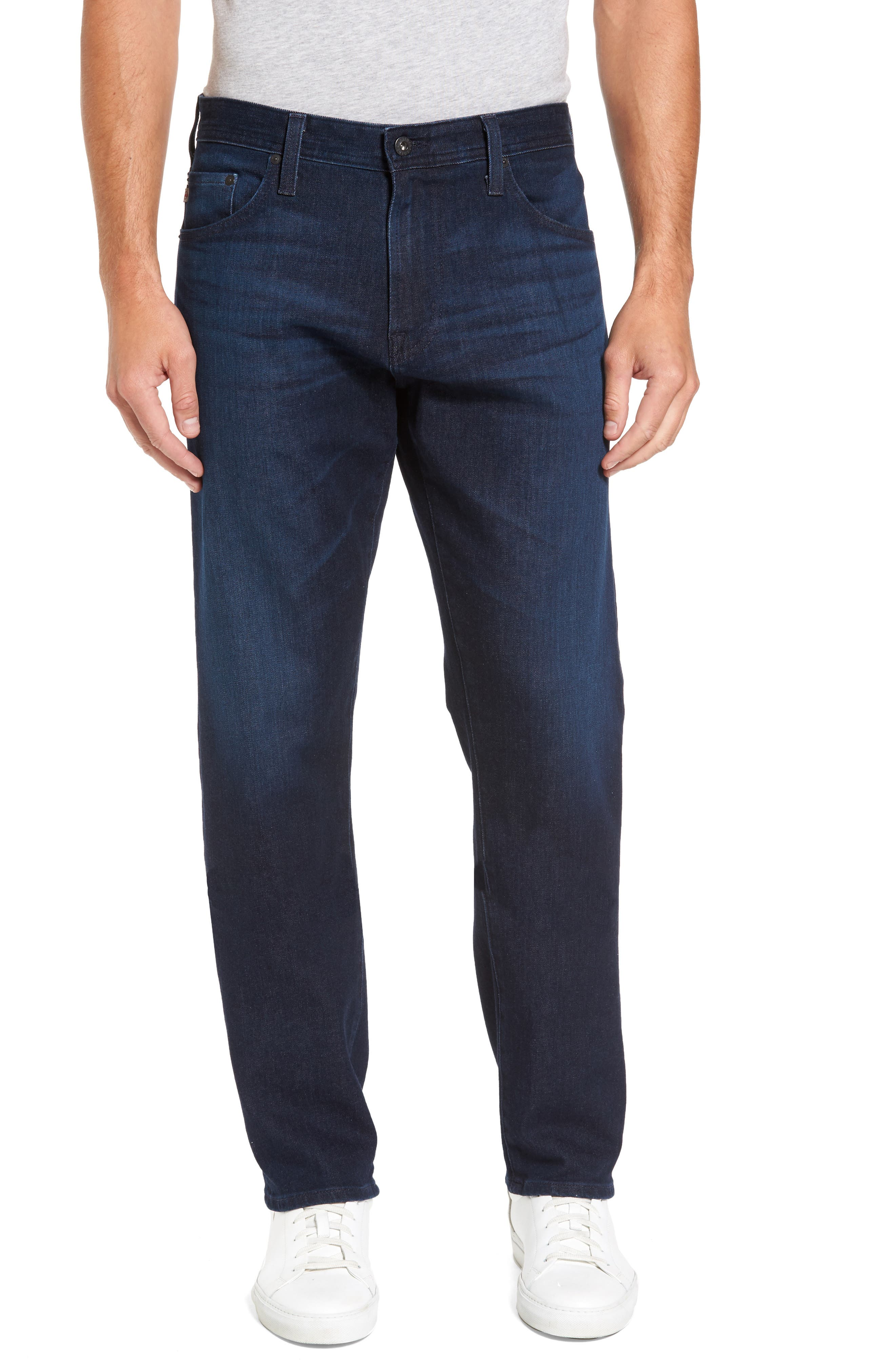 Ives Straight Leg Jeans,                         Main,                         color, 482