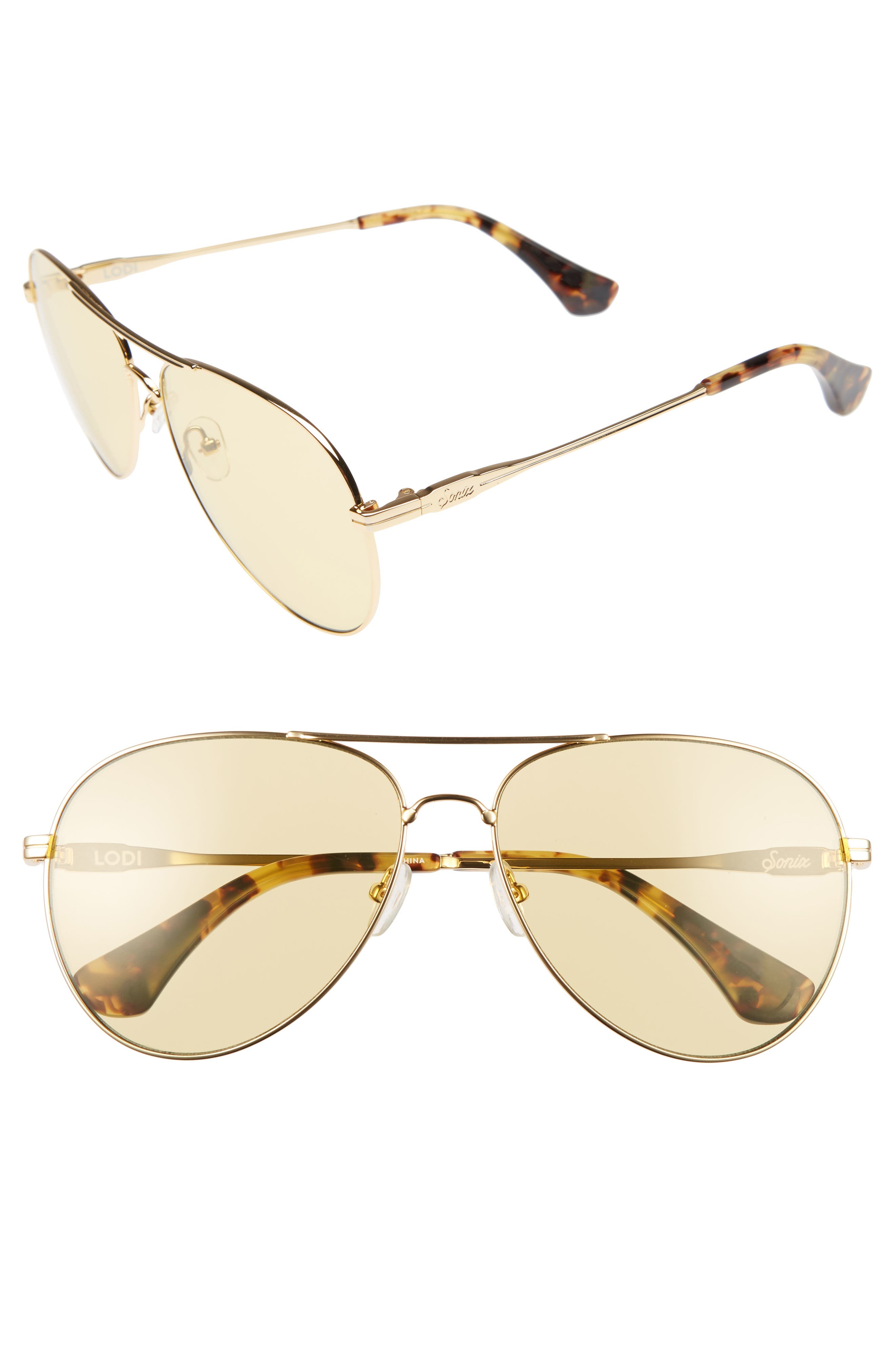 Lodi 62mm Mirrored Aviator Sunglasses,                             Alternate thumbnail 19, color,