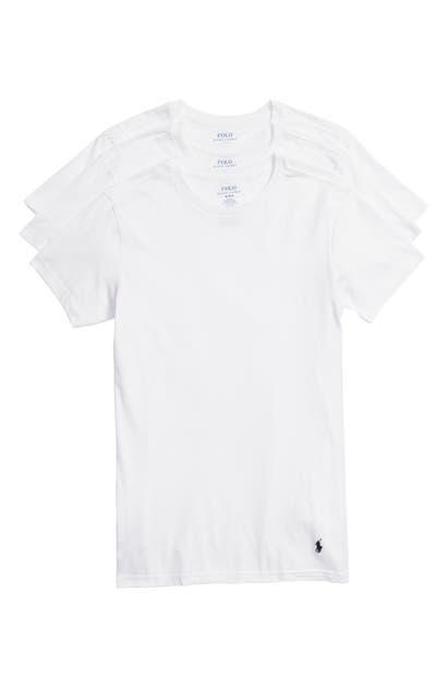 Lauren Ralph Lauren T-shirts POLO RALPH LAUREN 3-PACK SLIM FIT CREWNECK T-SHIRTS