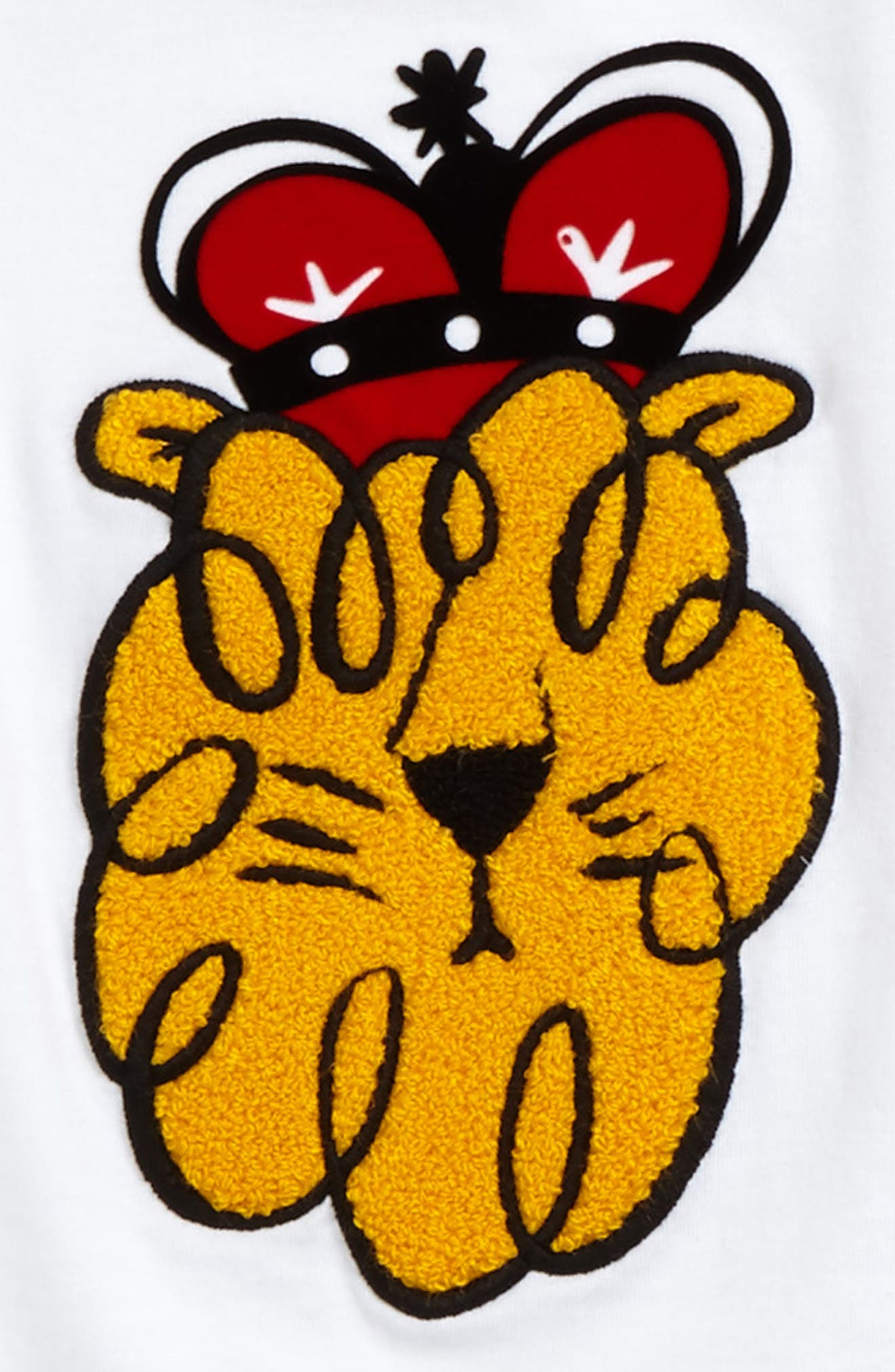 Lion Stripe Tee,                             Alternate thumbnail 2, color,