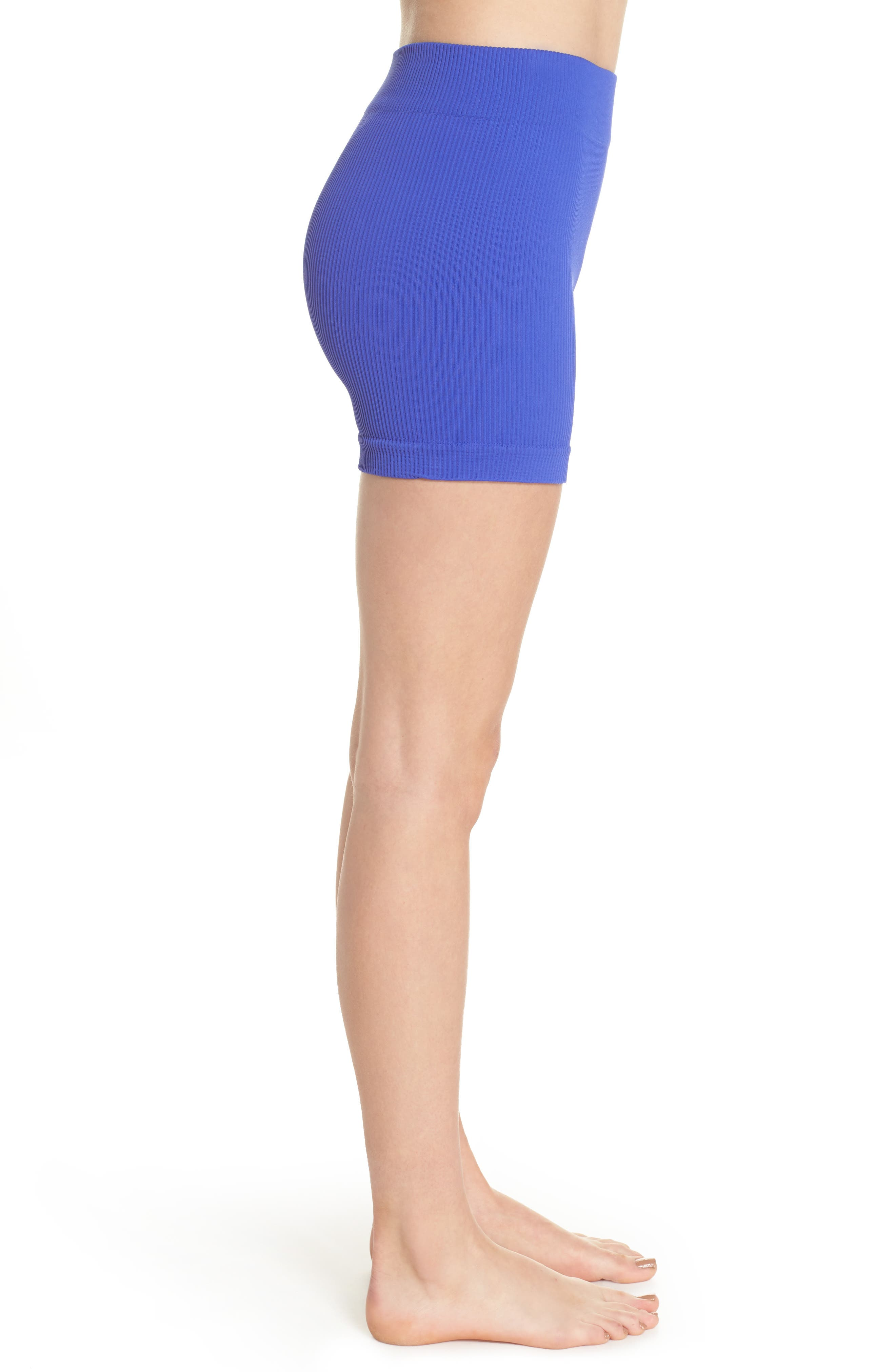 Free People Seamless Shorts,                             Alternate thumbnail 7, color,