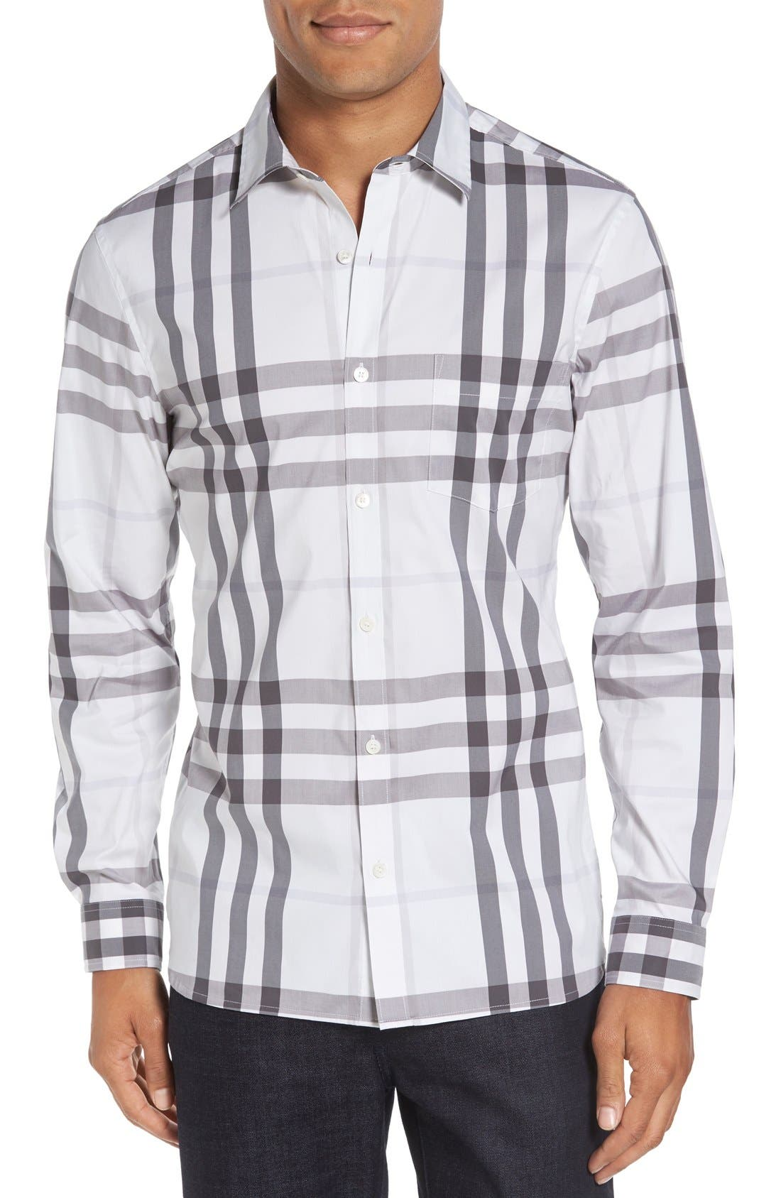 Nelson Check Sport Shirt,                             Main thumbnail 7, color,