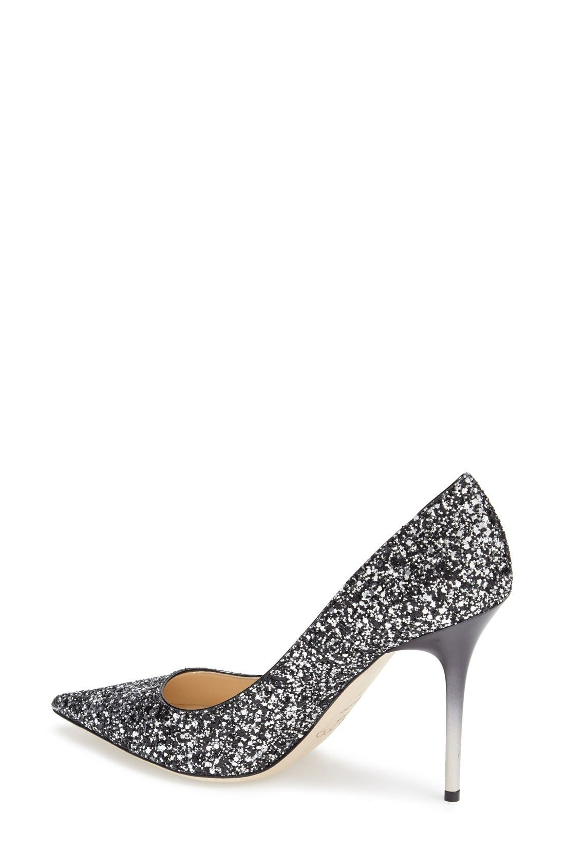 'Abel' Pointy Toe Pump,                             Alternate thumbnail 2, color,                             002