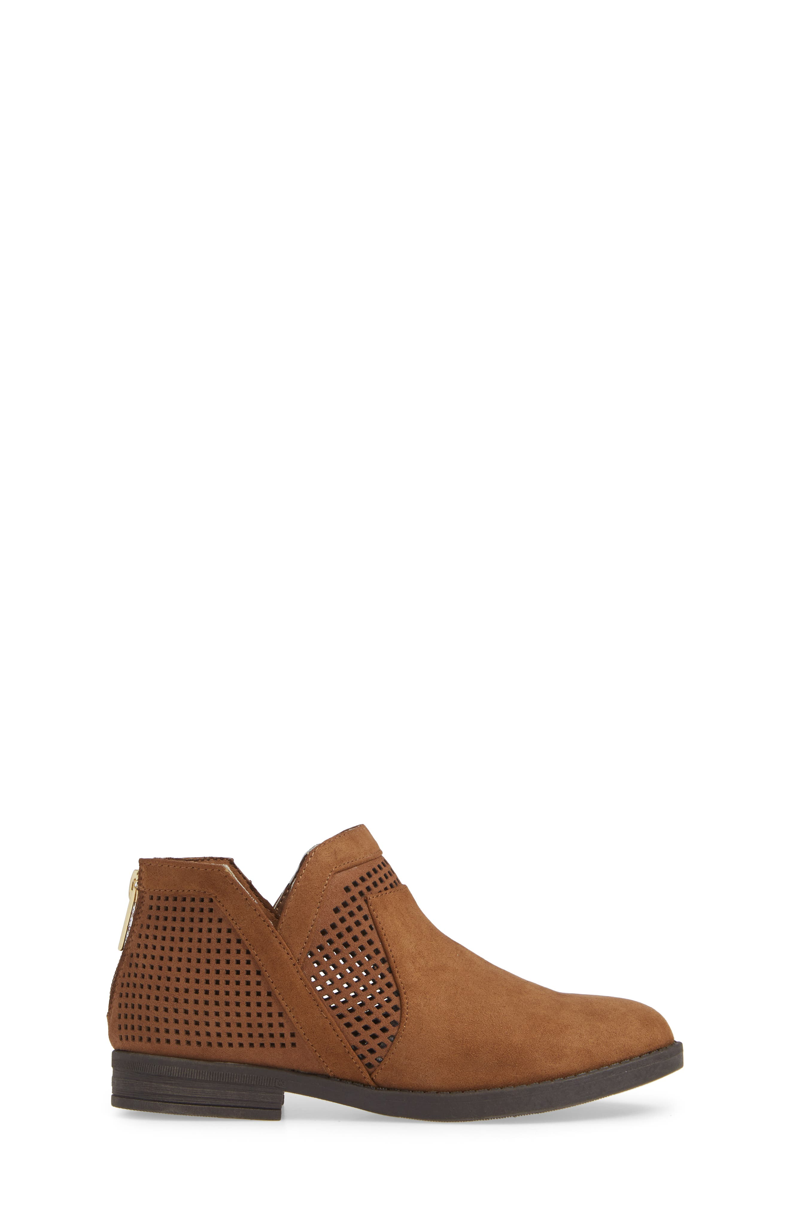 Wild Westy Perforated Bootie,                             Alternate thumbnail 3, color,                             206