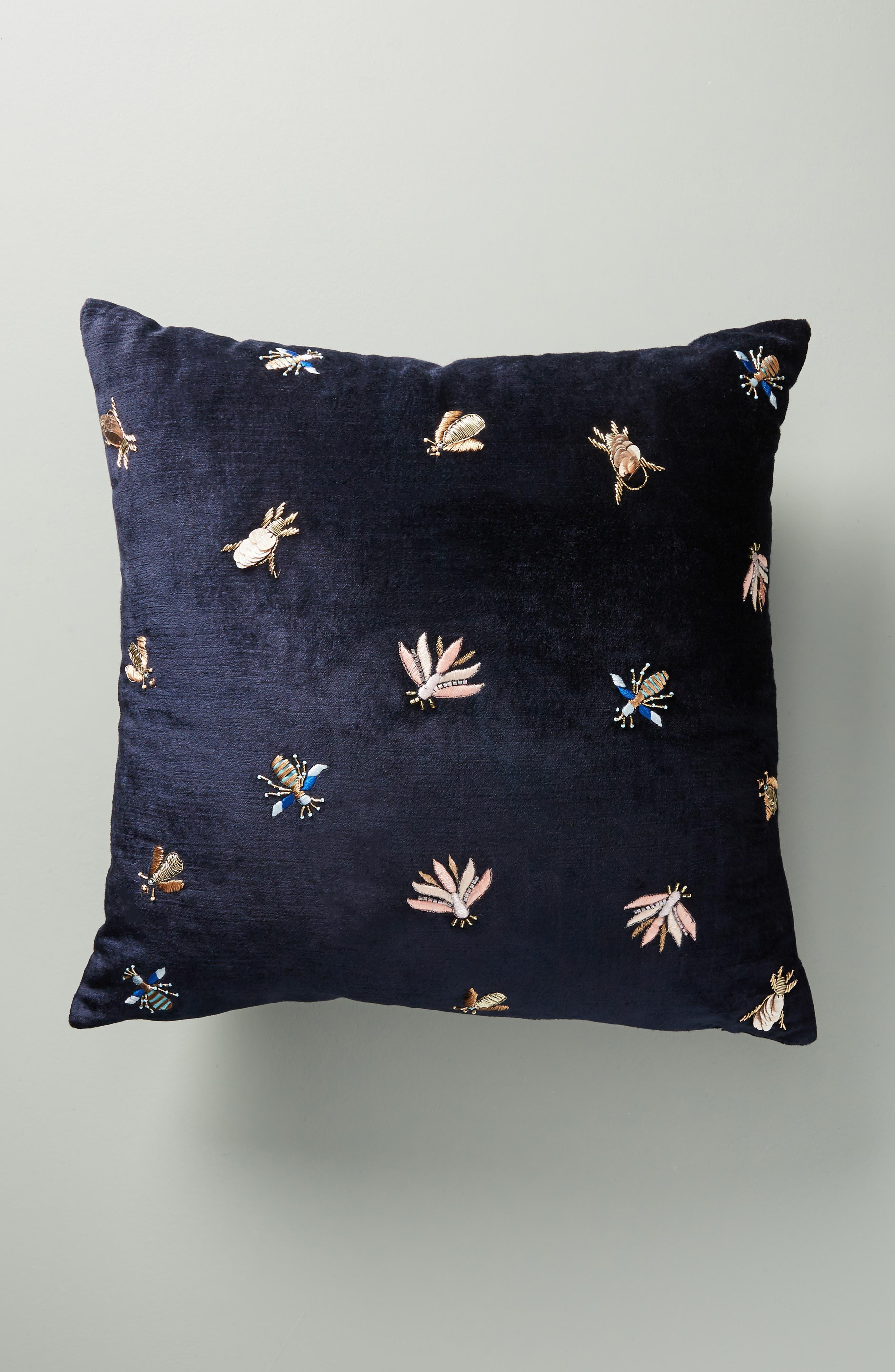 Wyatt Velvet Accent Pillow, Main, color, 400