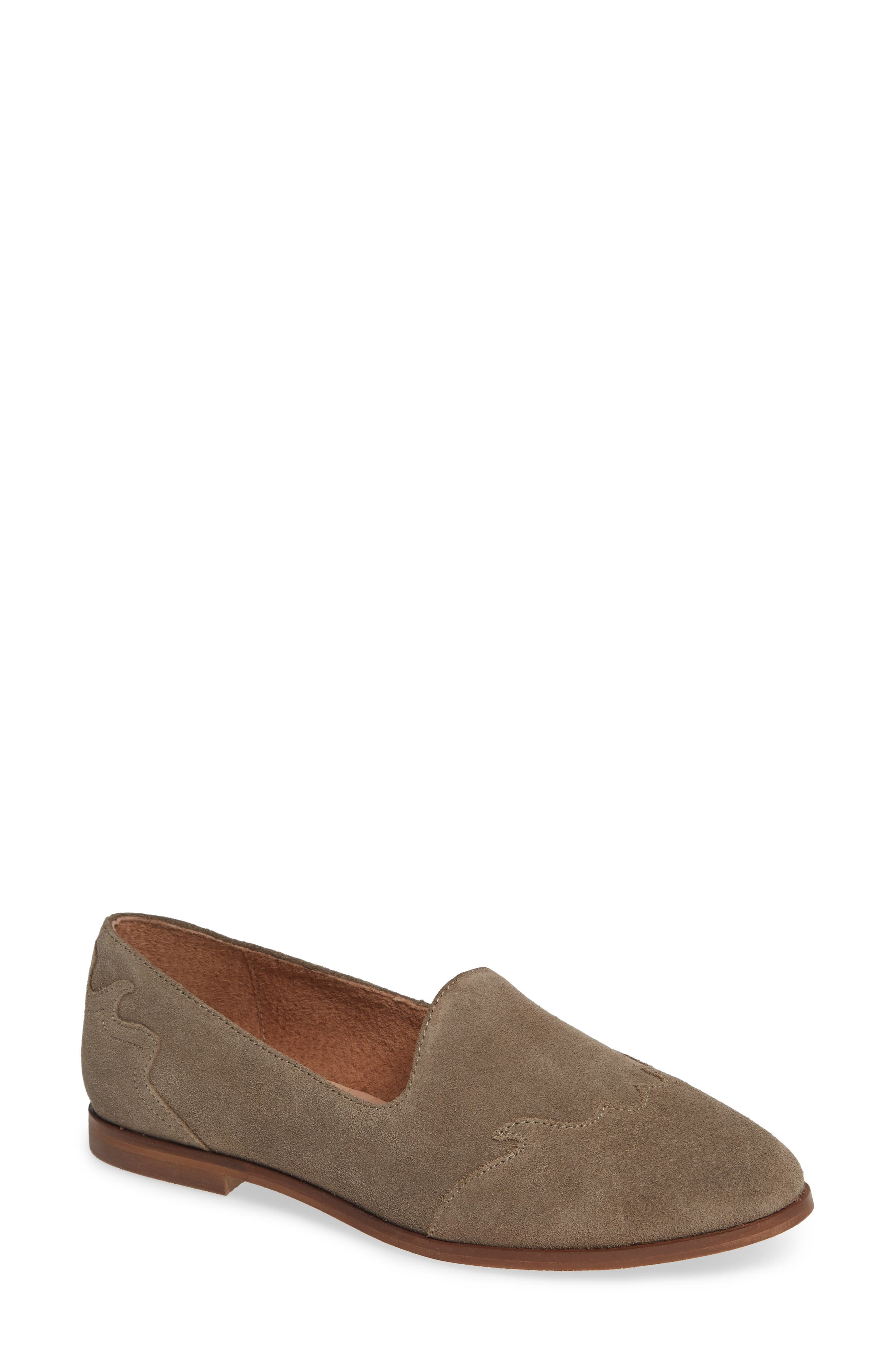 Revolution Loafer,                         Main,                         color, TAUPE SUEDE