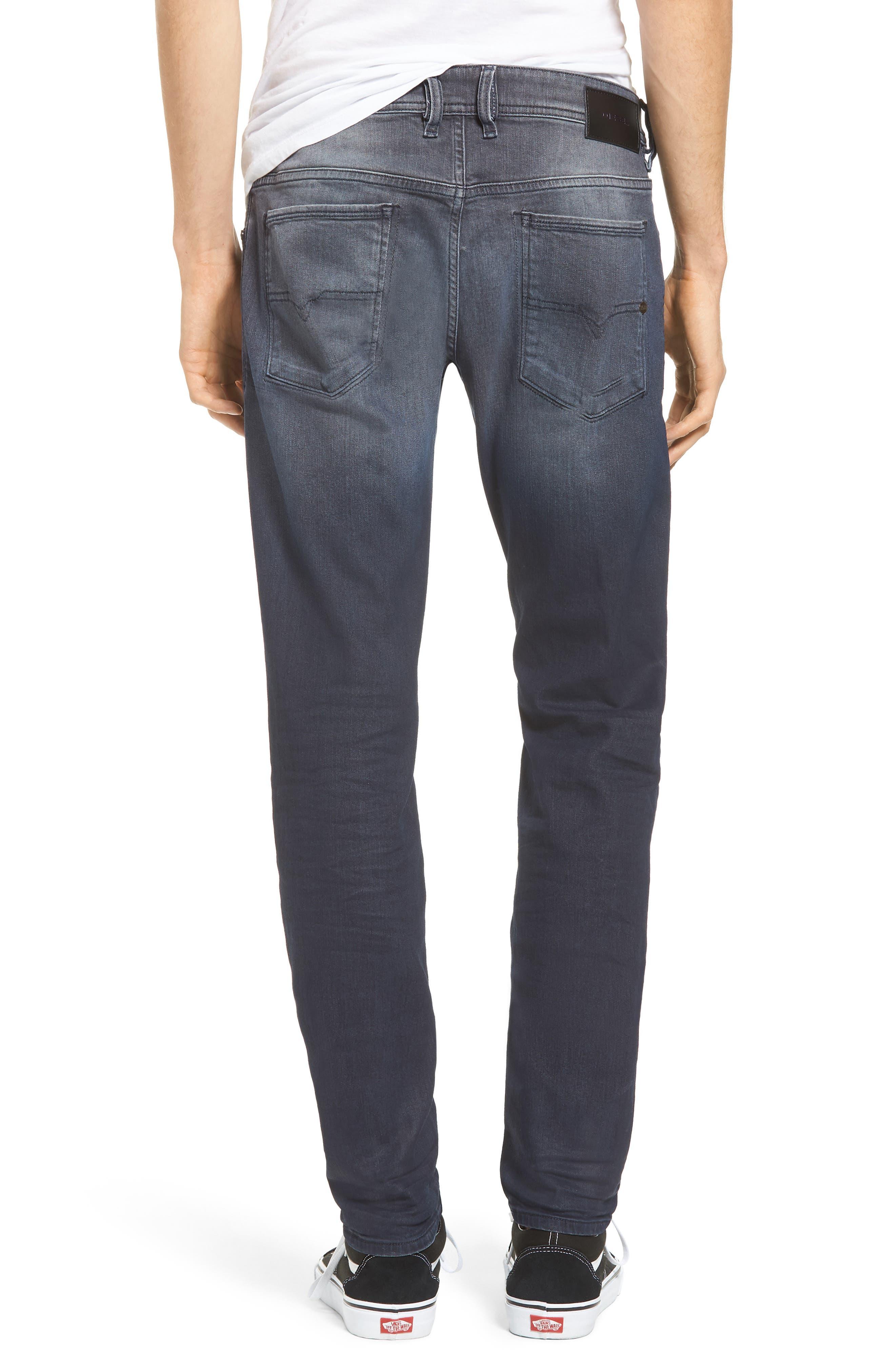 Sleenker Skinny Fit Jeans,                             Alternate thumbnail 2, color,                             400