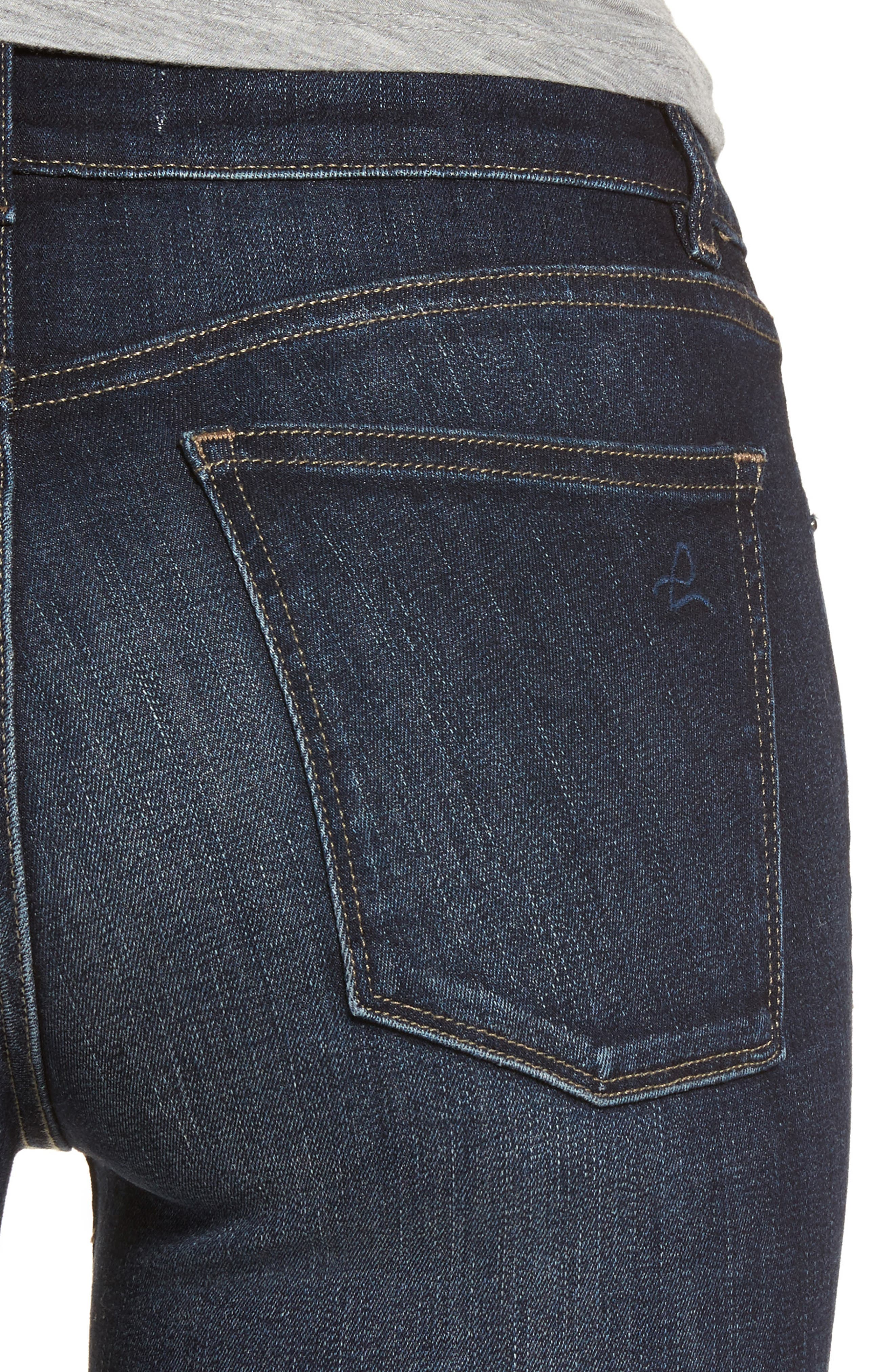 Danny Instasculpt Supermodel Skinny Jeans,                             Alternate thumbnail 4, color,                             405