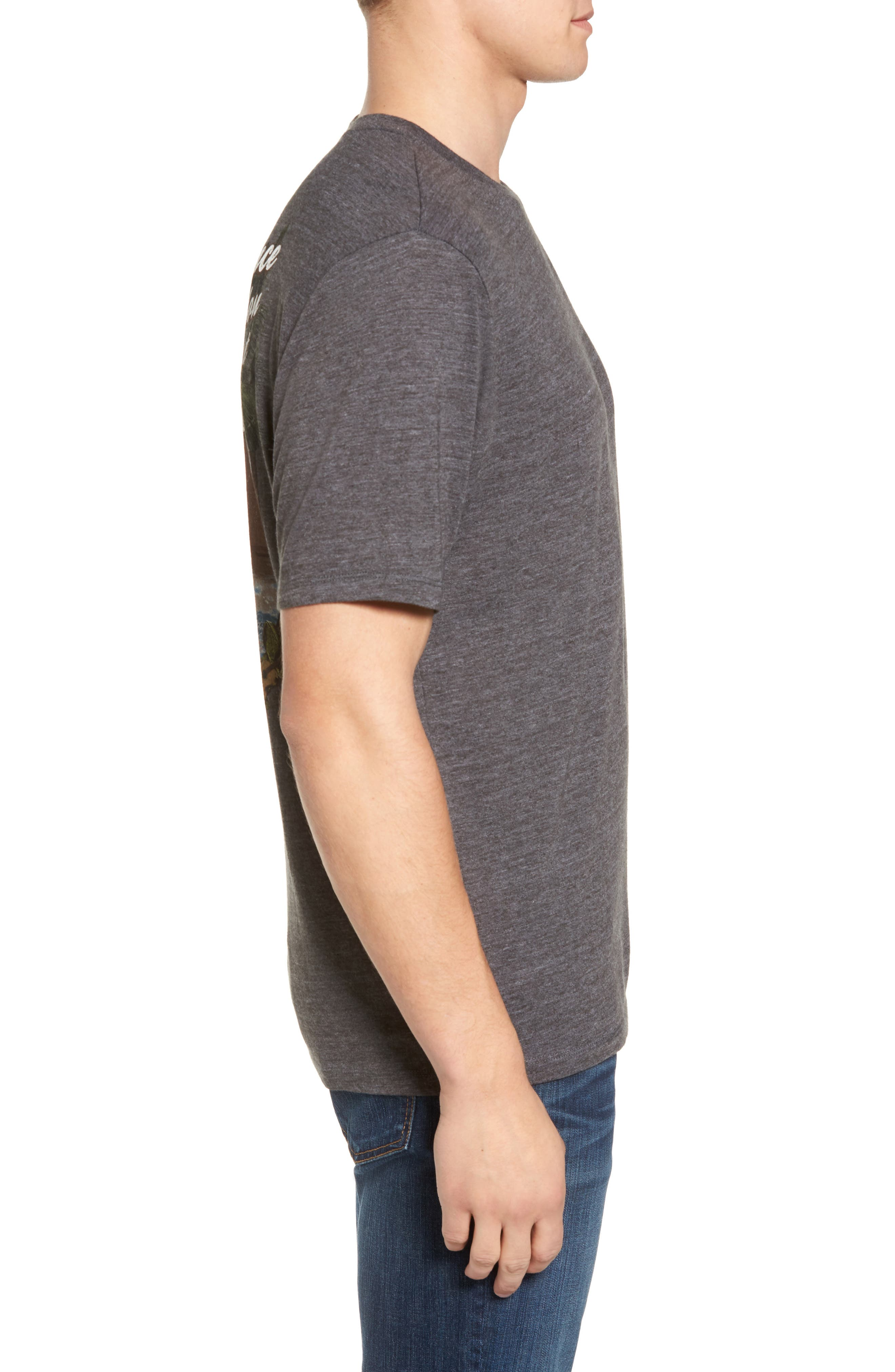 Toucan Dance Graphic T-Shirt,                             Alternate thumbnail 3, color,                             001