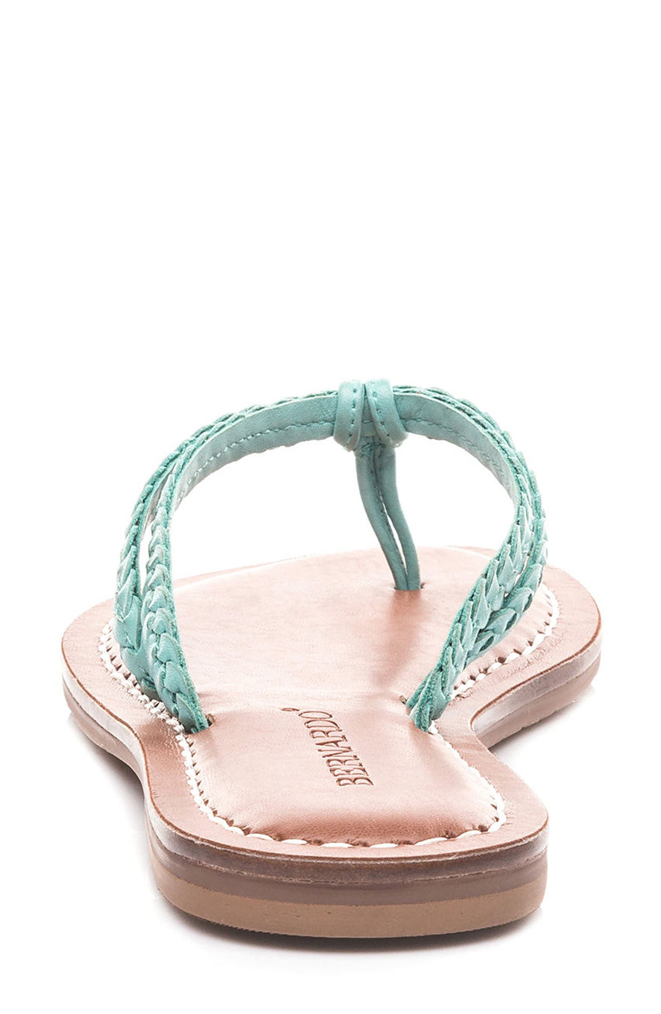 Bernardo Greta Braided Strap Sandal,                             Alternate thumbnail 45, color,