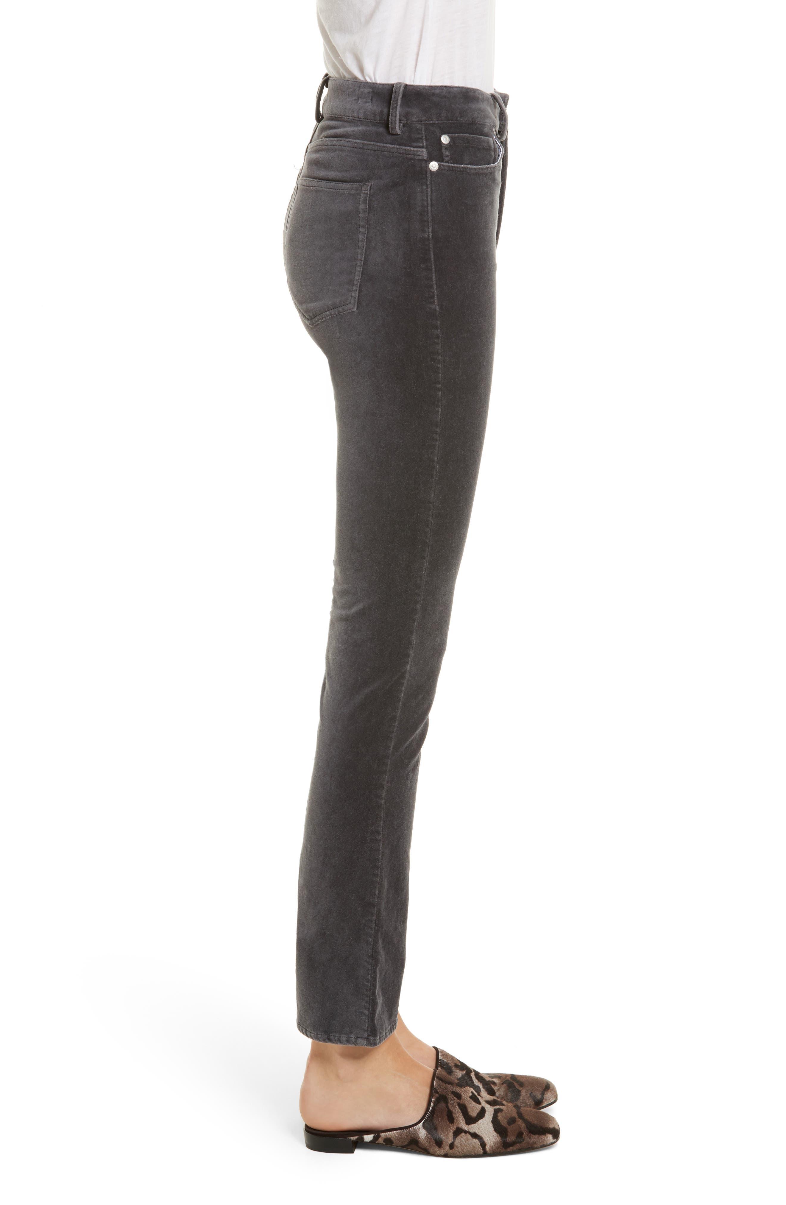 Velvet Clemence Skinny Pants,                             Alternate thumbnail 3, color,                             099