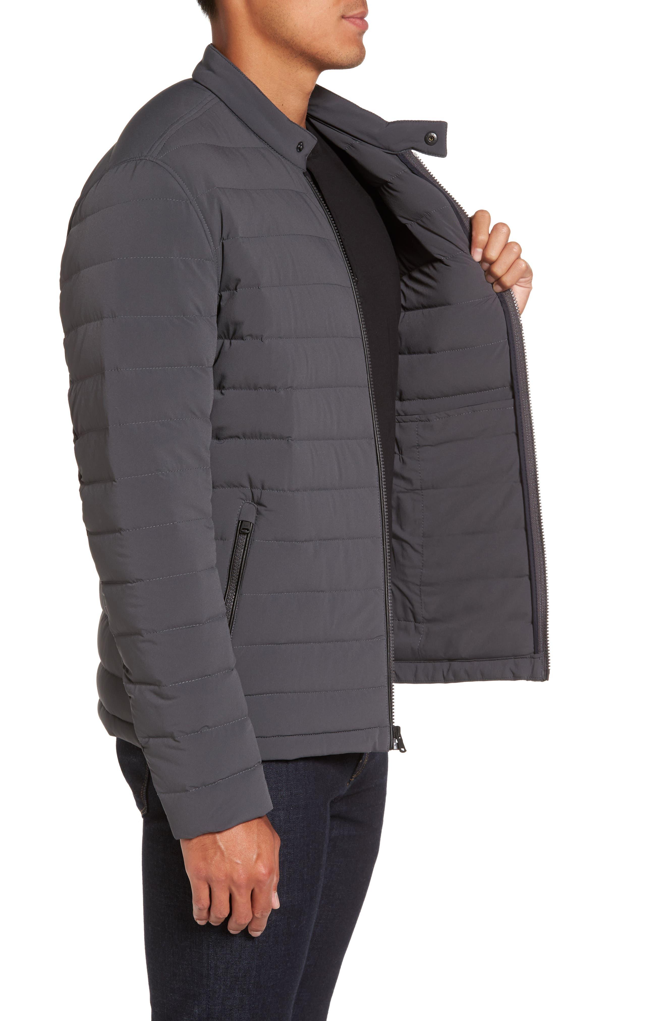 Packable Stretch Down Jacket,                             Alternate thumbnail 12, color,