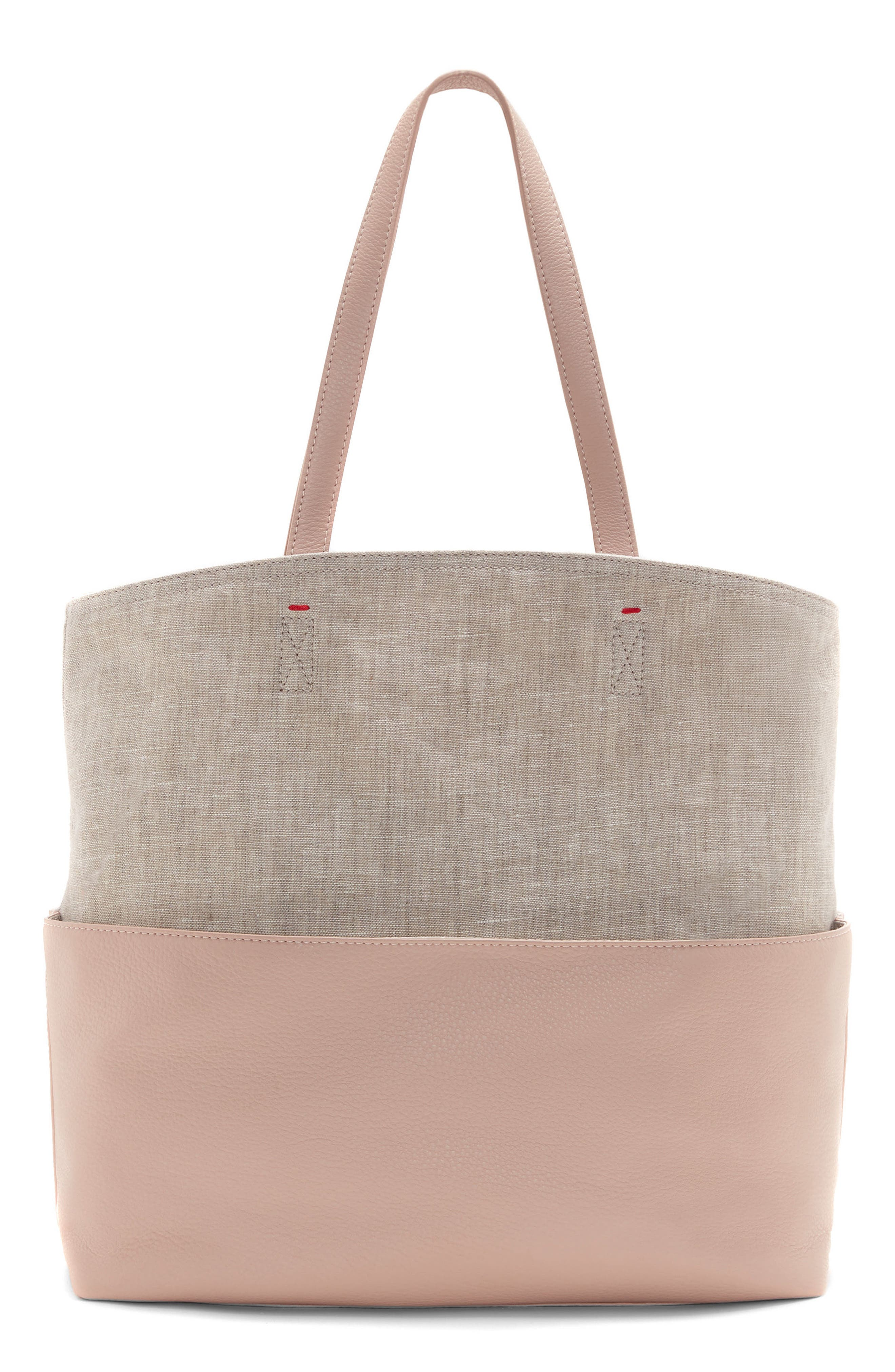 Henlee Canvas & Leather Tote,                             Alternate thumbnail 2, color,                             650