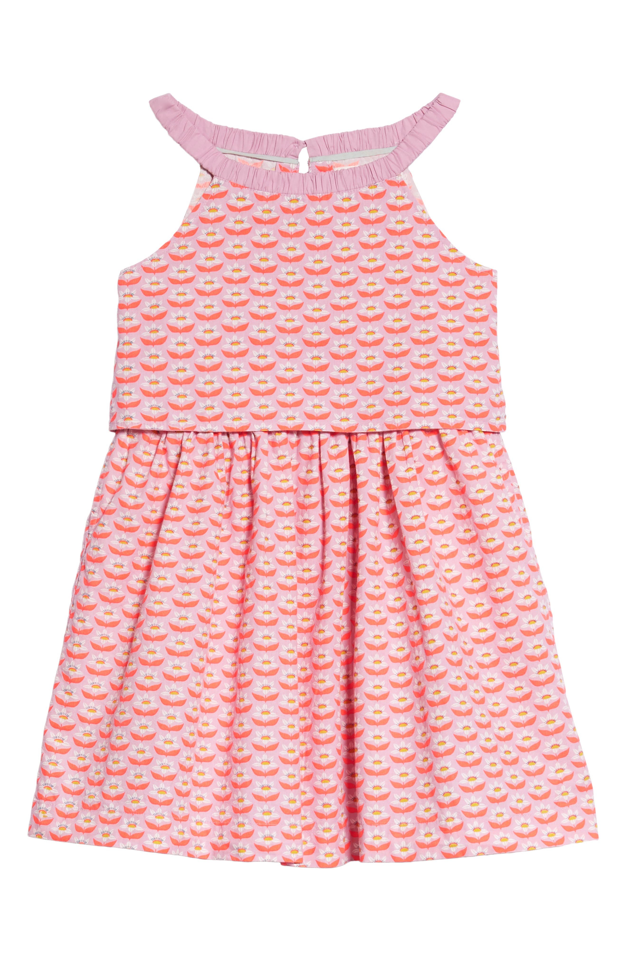 Popover Woven Dress,                         Main,                         color, 514
