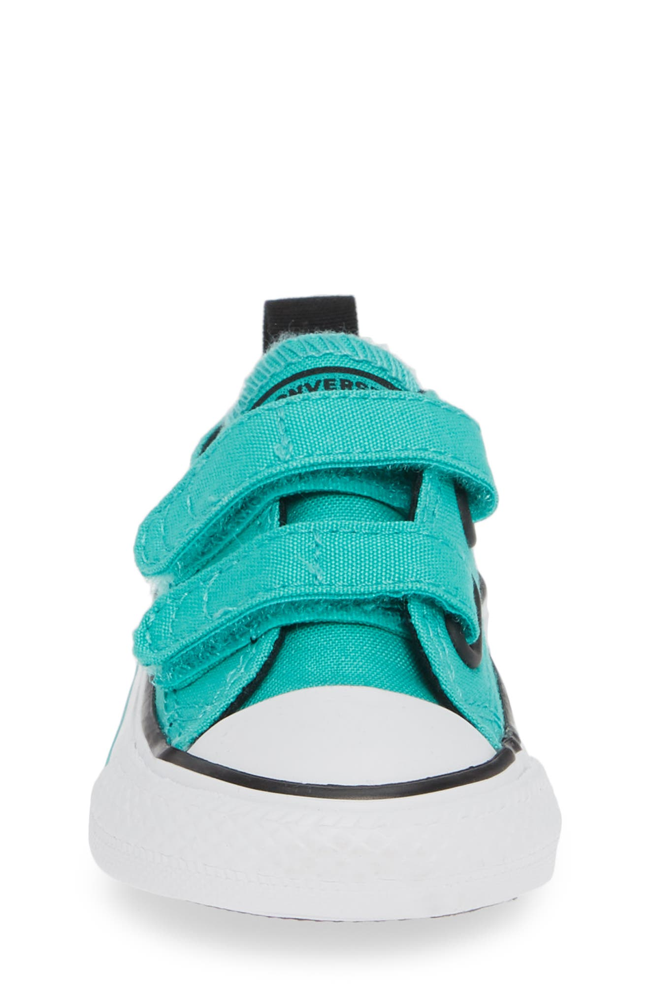 Chuck Taylor<sup>®</sup> 'Double Strap' Sneaker,                             Alternate thumbnail 4, color,                             PURE TEAL