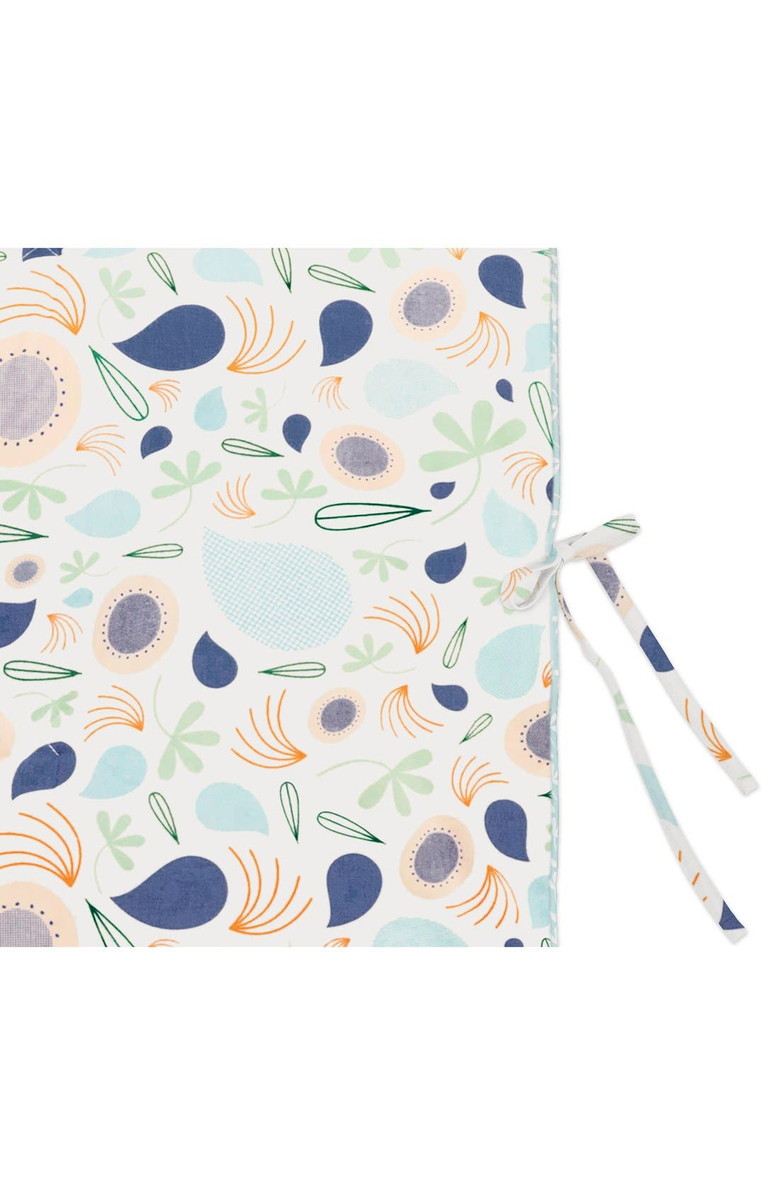 'Flora' Mini Crib Sheet, Changing Pad Cover, Stroller Blanket & Wall Decals,                             Alternate thumbnail 6, color,                             400