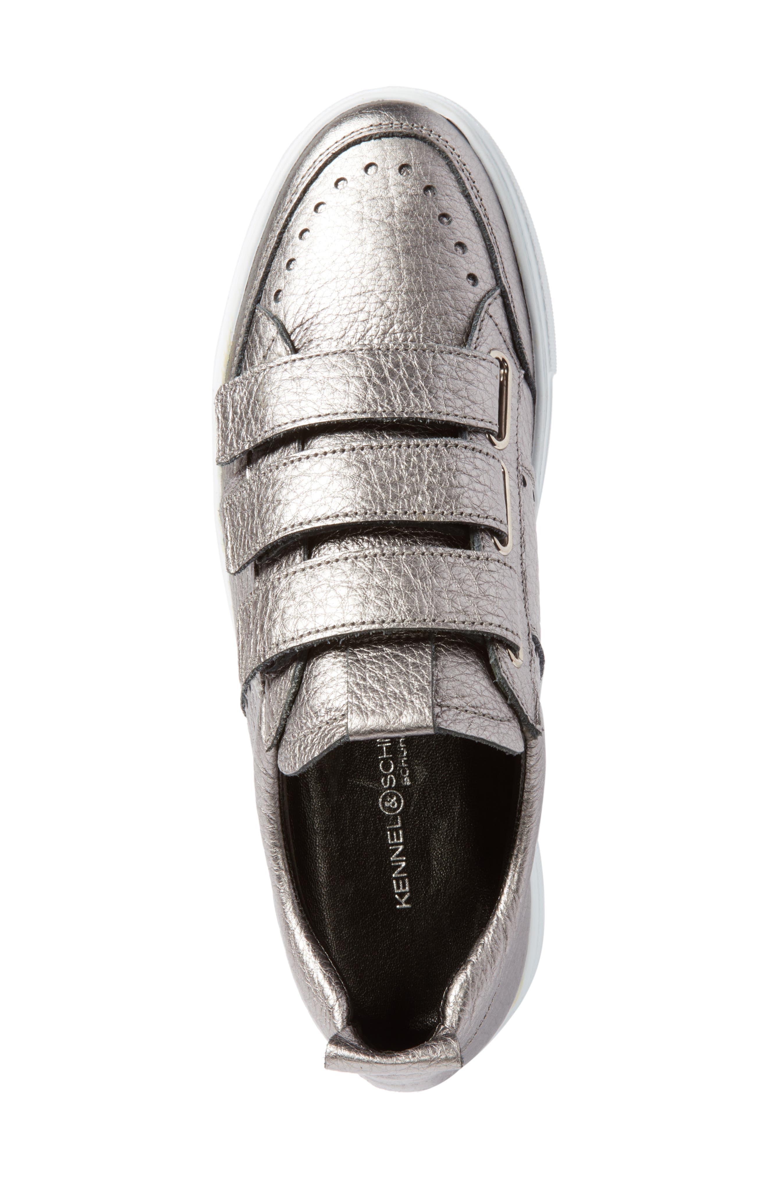 Kennel & Schmenger Big Low Top Tab Sneaker,                             Alternate thumbnail 5, color,                             020