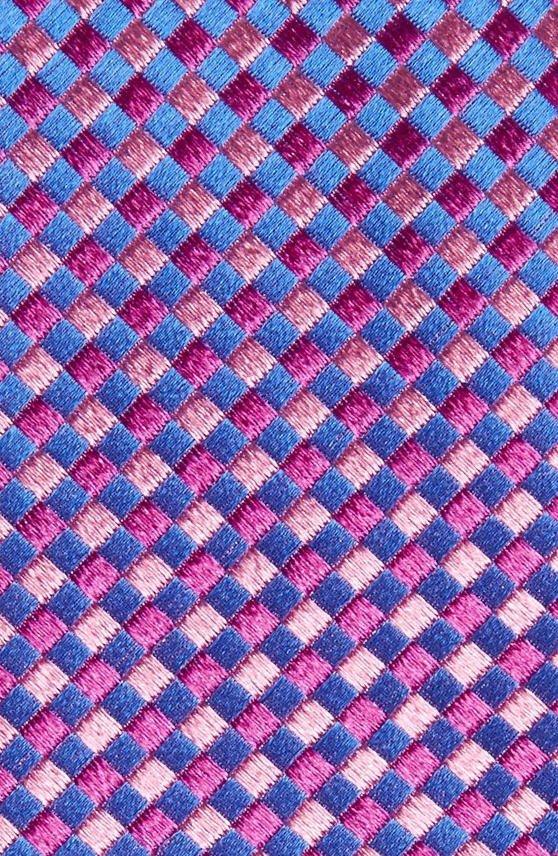 Check Silk Tie,                             Alternate thumbnail 20, color,