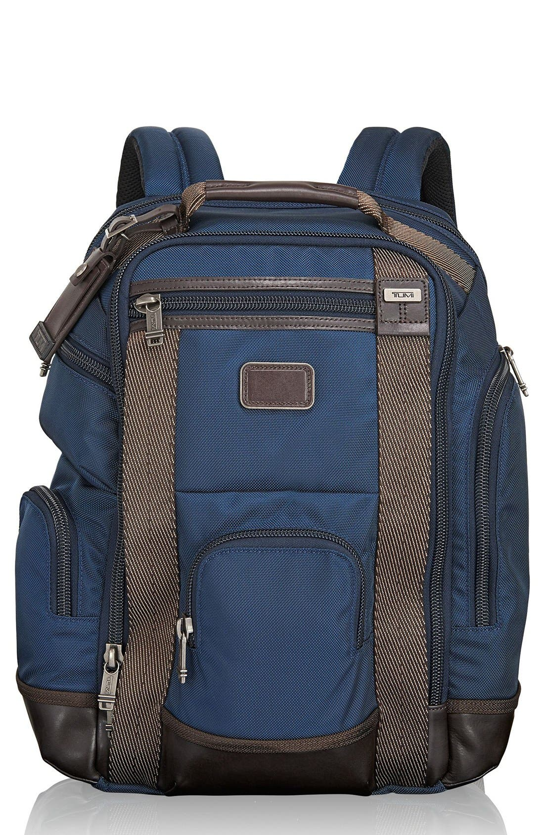 Alpha Bravo Shaw Deluxe Backpack,                             Main thumbnail 4, color,