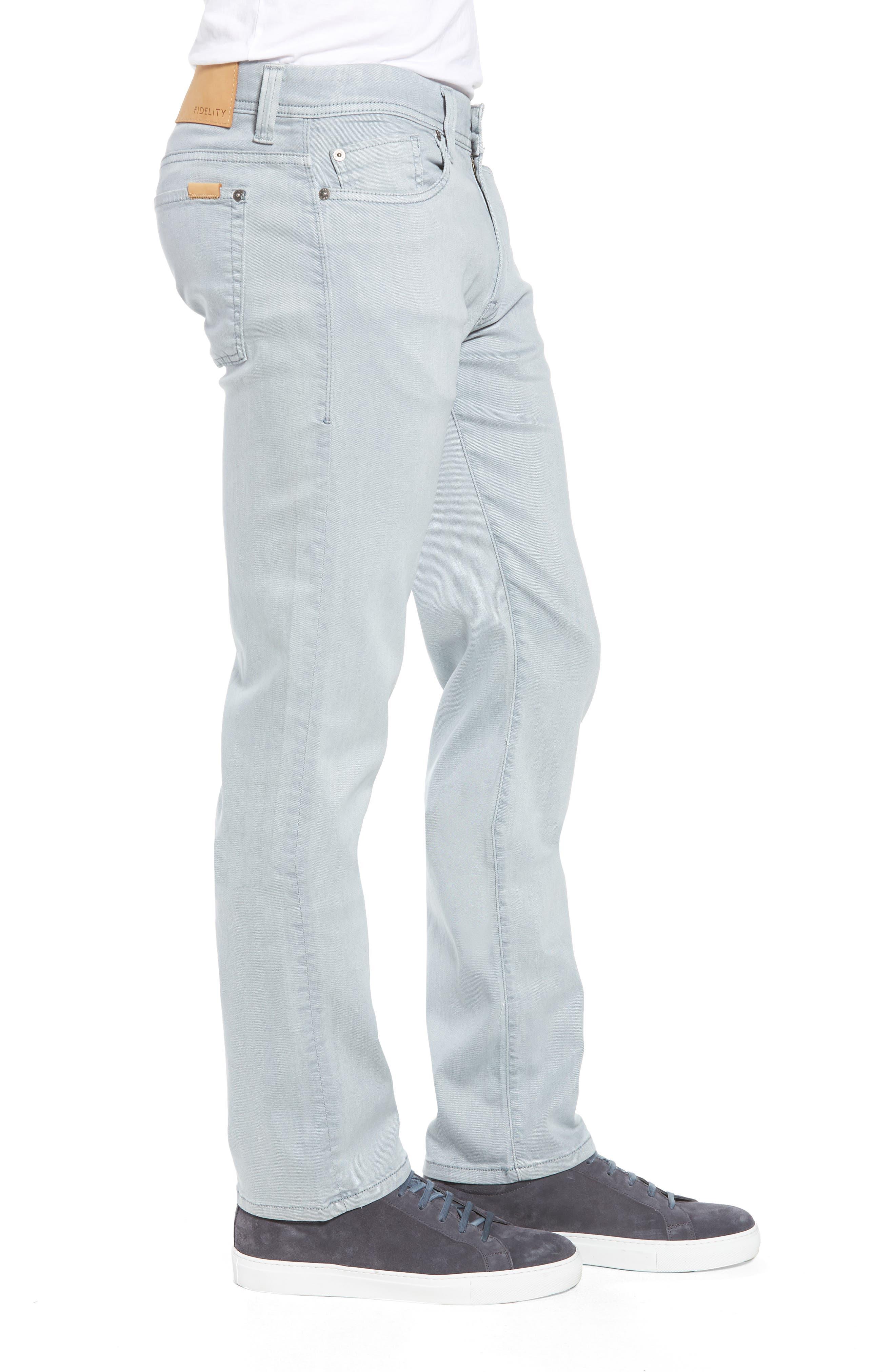 FIDELITY DENIM,                             Fidelity Jimmy Slim Straight Leg Jeans,                             Alternate thumbnail 3, color,                             020
