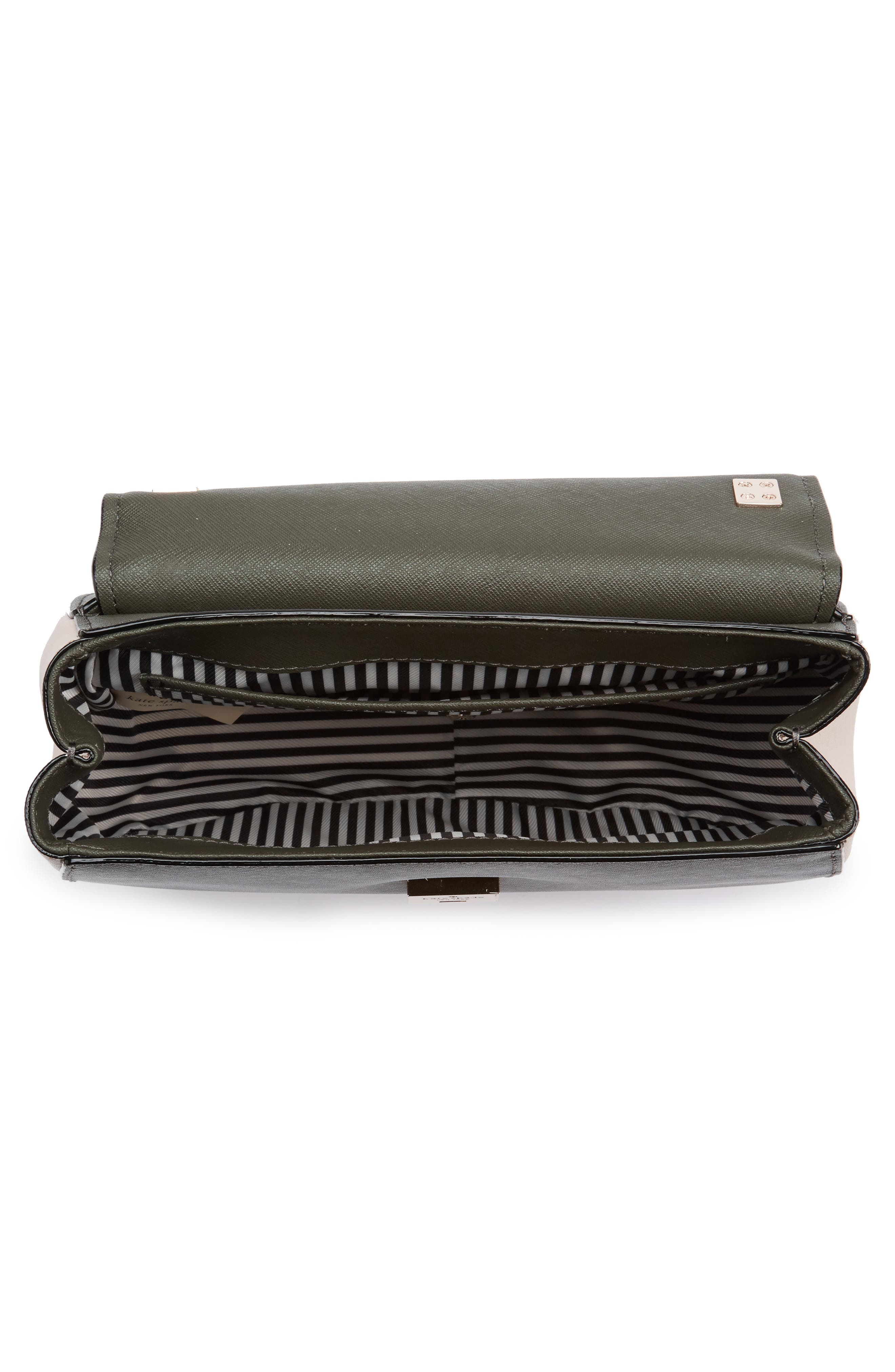 cameron street - byrdie leather crossbody bag,                             Alternate thumbnail 4, color,                             301