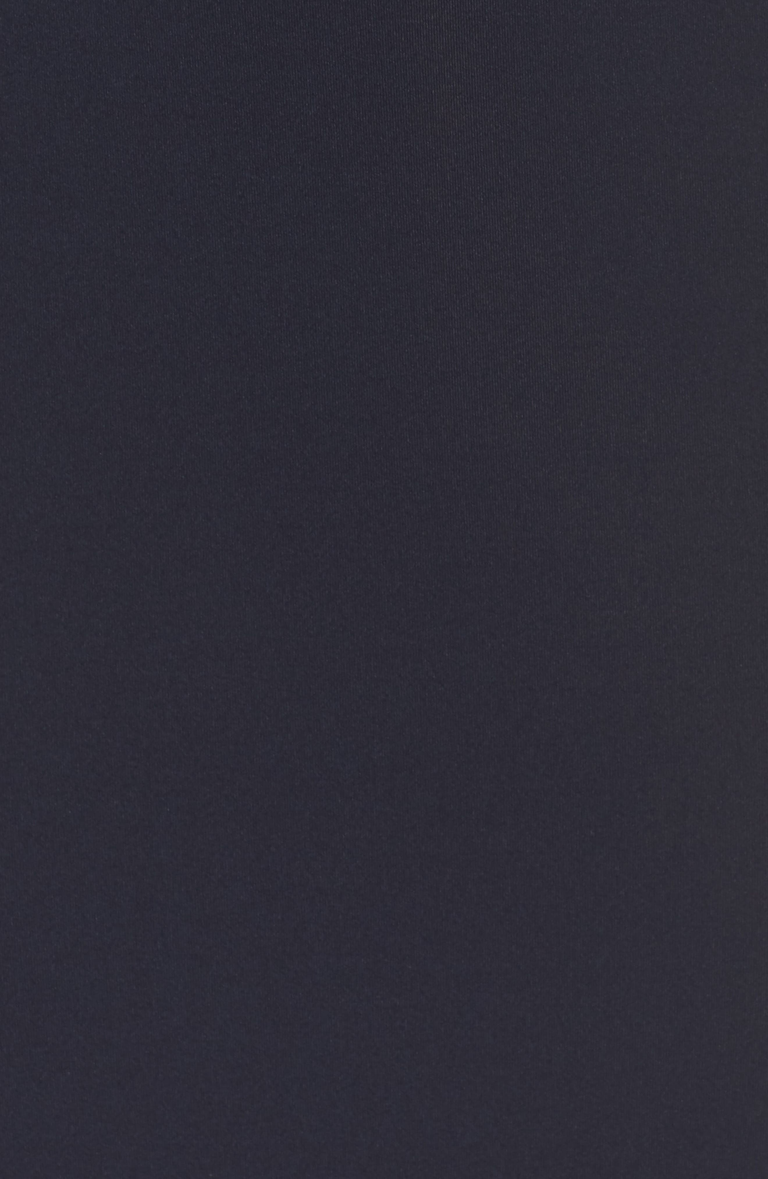 Fringe Sheath Dress,                             Alternate thumbnail 6, color,                             NAVY