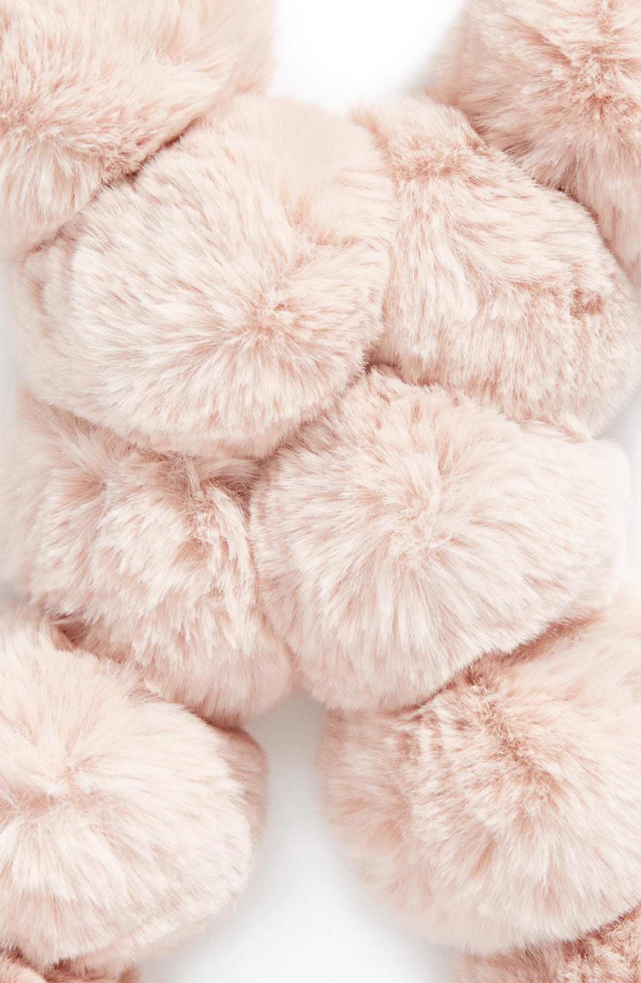 Faux Fur Pom Scarf,                             Alternate thumbnail 11, color,