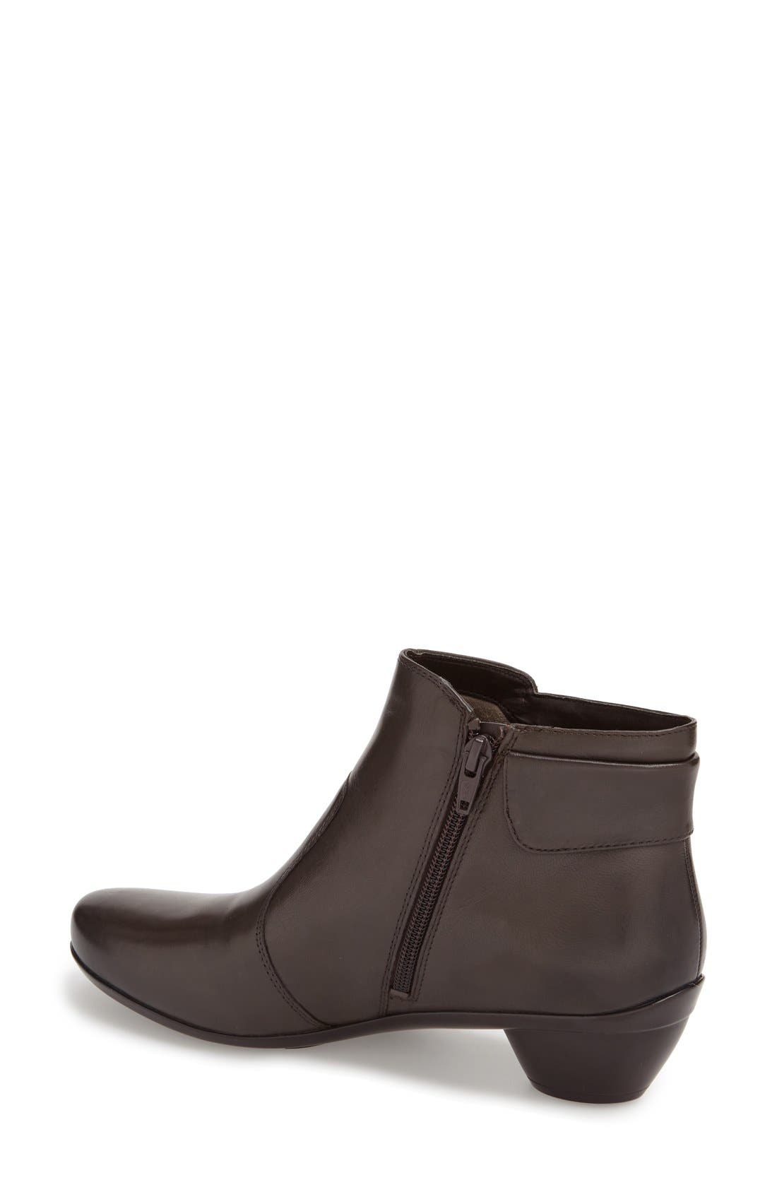 'Haley'  Bootie,                             Alternate thumbnail 2, color,                             OXFORD BROWN