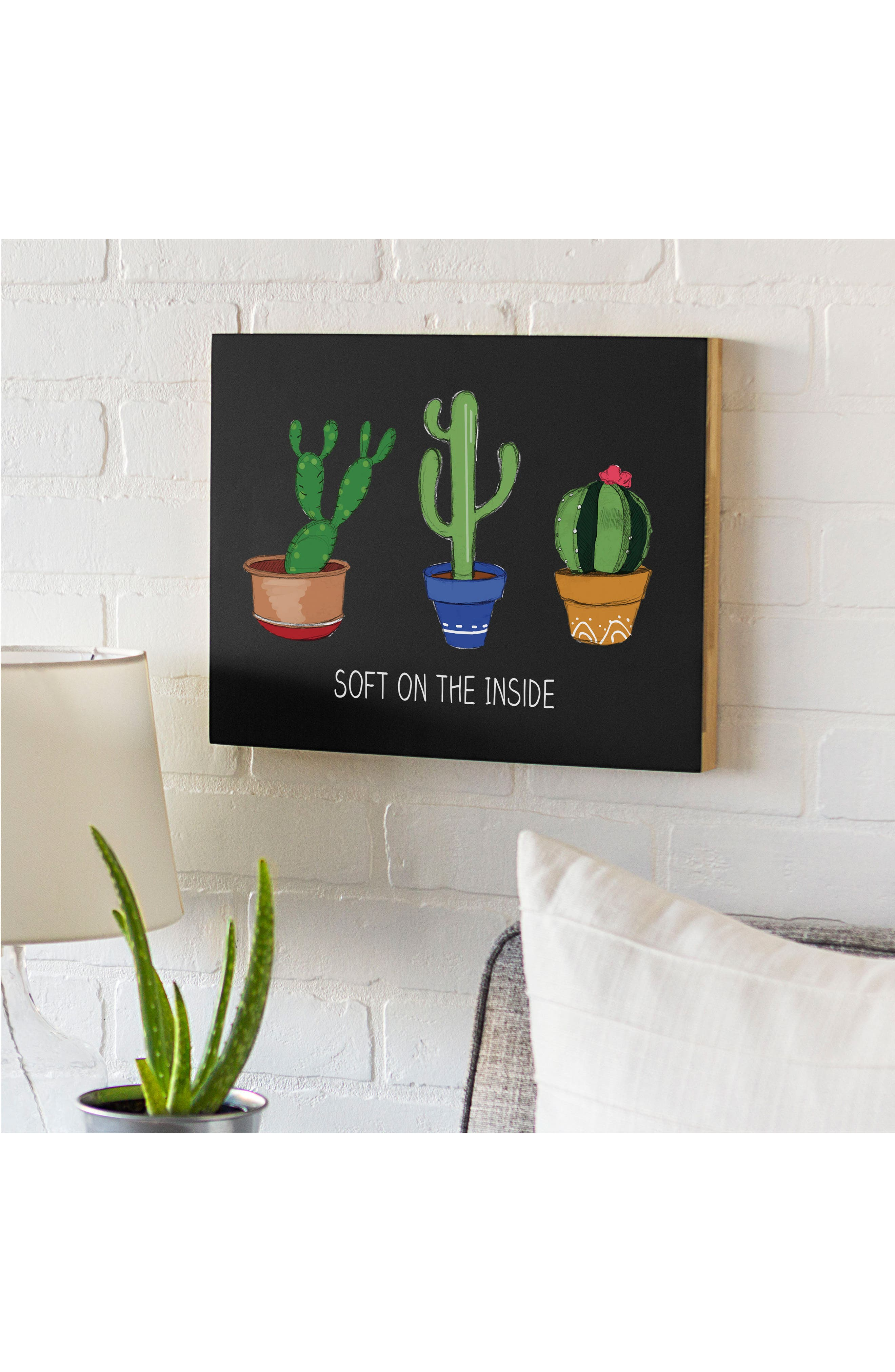 Cactus Chalkboard,                             Alternate thumbnail 3, color,