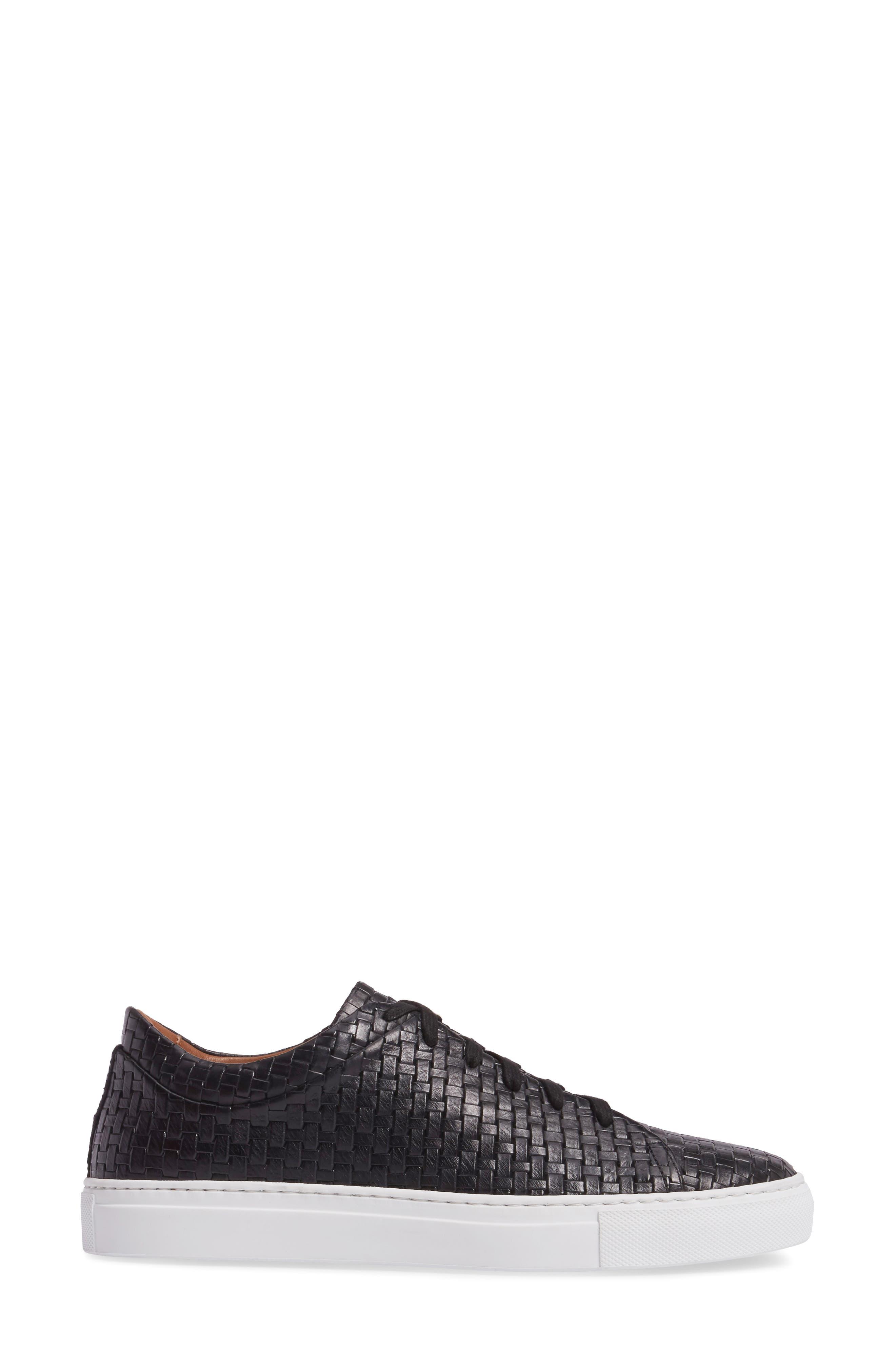 Avery Weatherproof Sneaker,                             Alternate thumbnail 3, color,                             BLACK