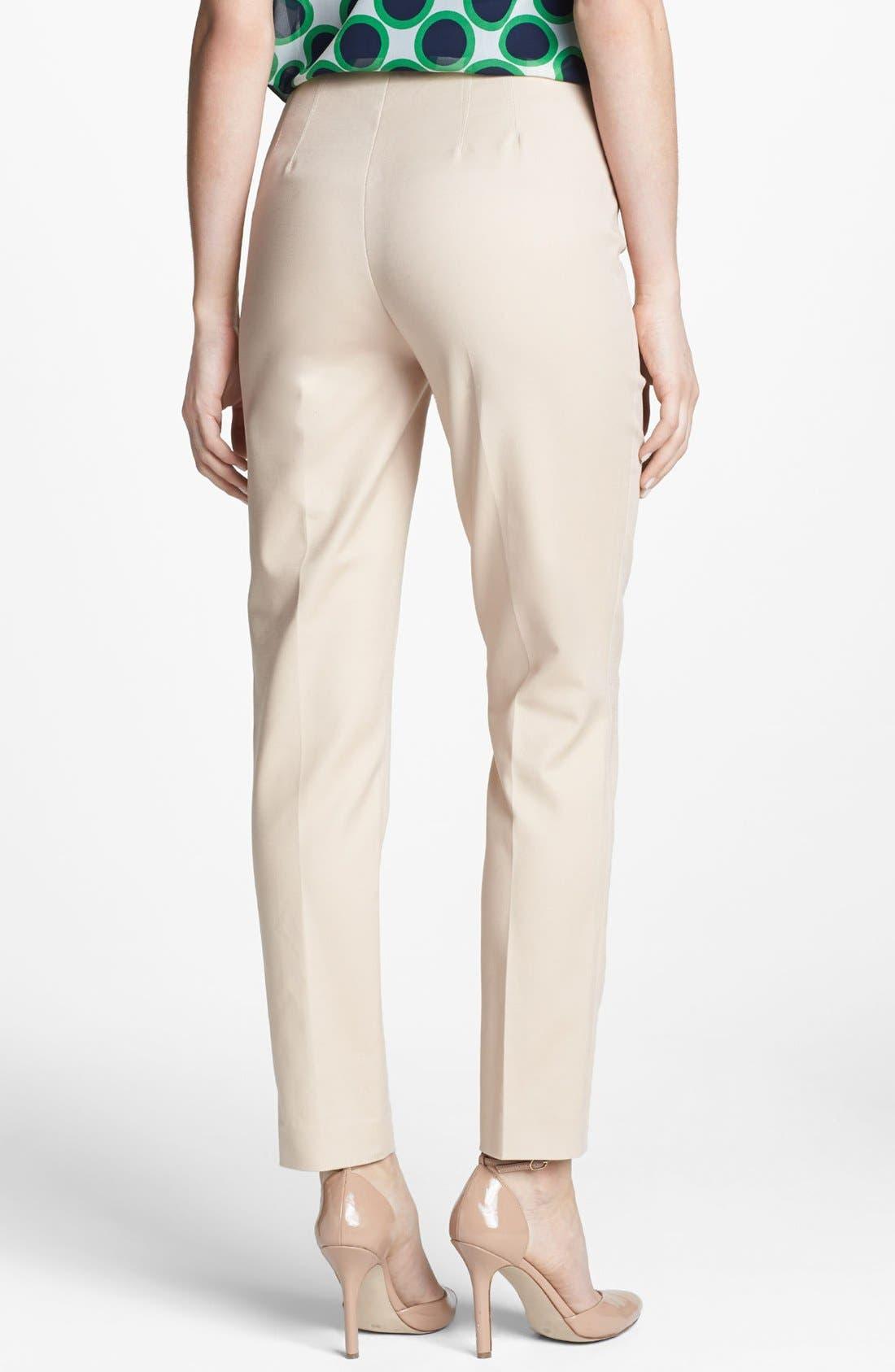 Side Zip Double Weave Pants,                             Alternate thumbnail 31, color,