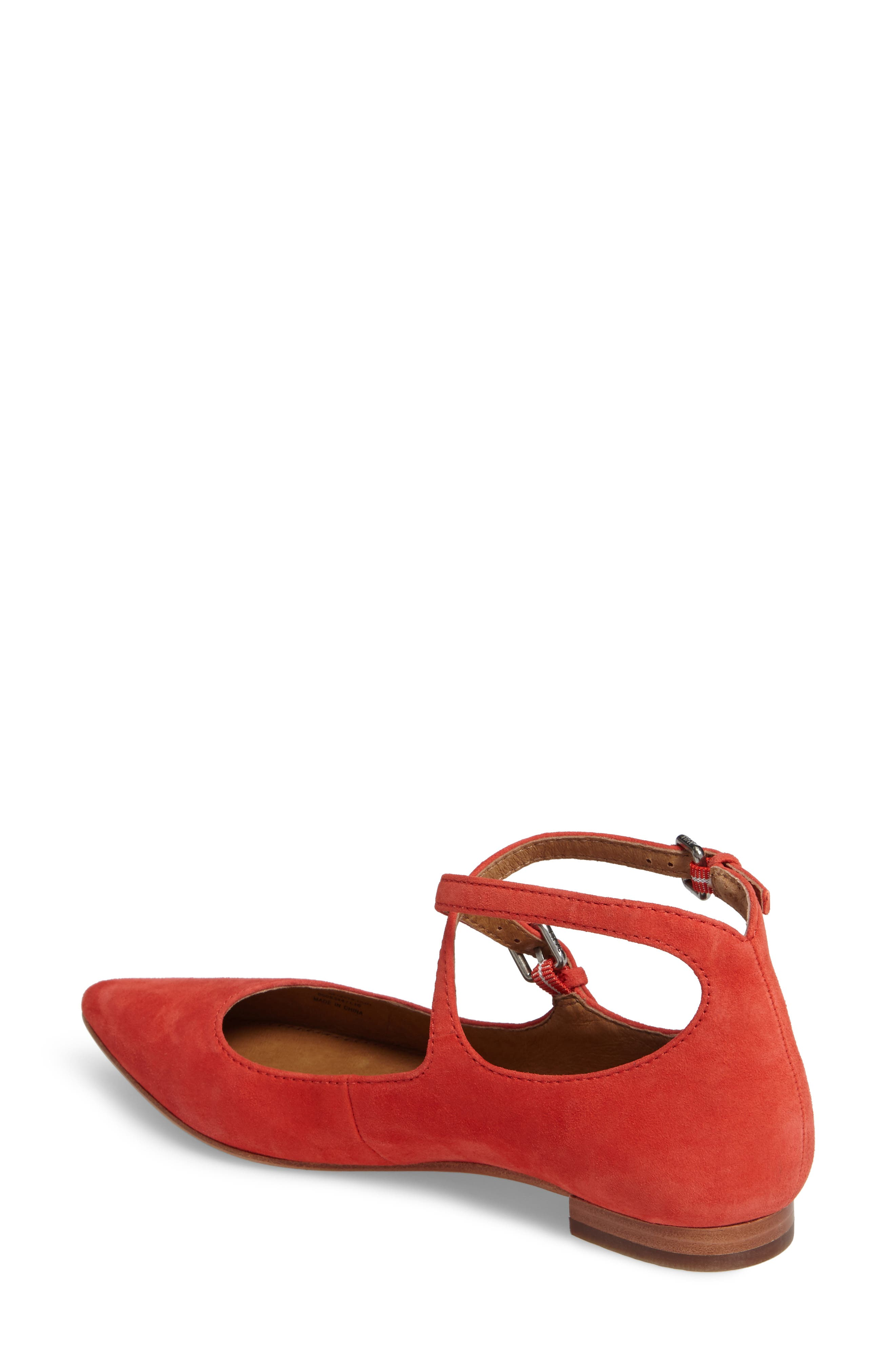 Sienna Cross Ballet Flat,                             Alternate thumbnail 6, color,