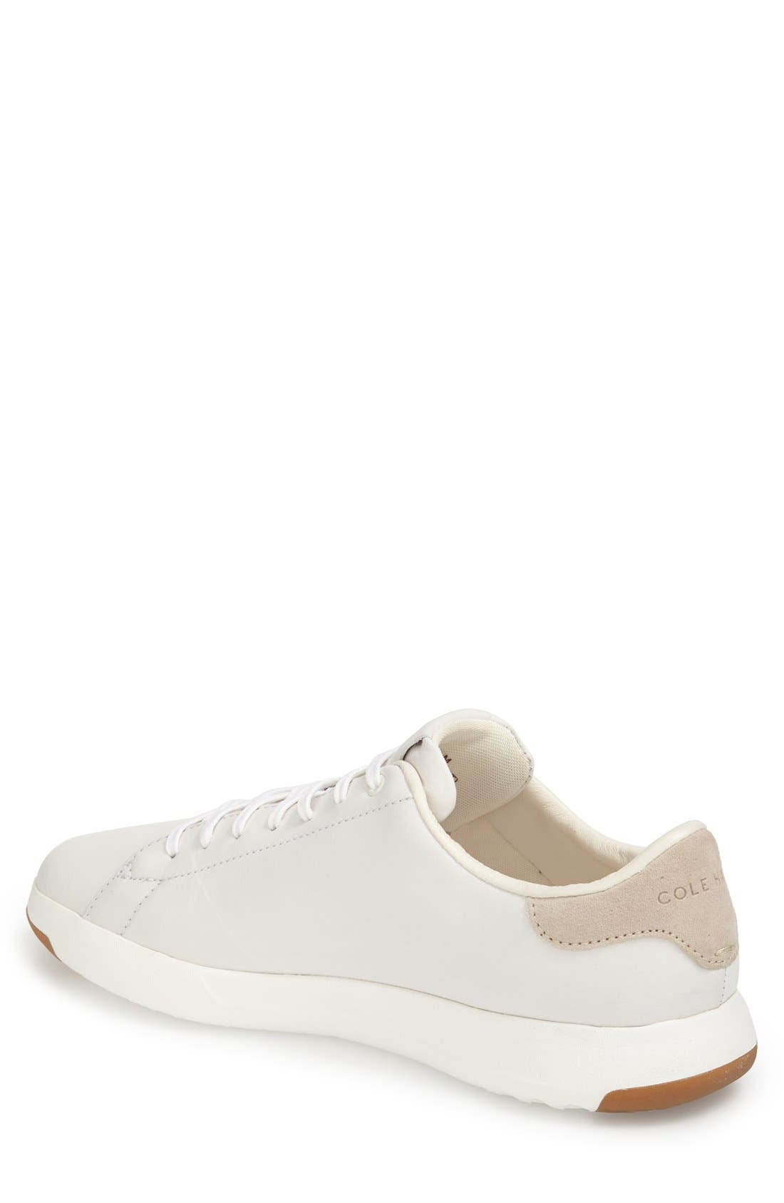 GrandPro Tennis Sneaker,                             Alternate thumbnail 8, color,                             WHITE