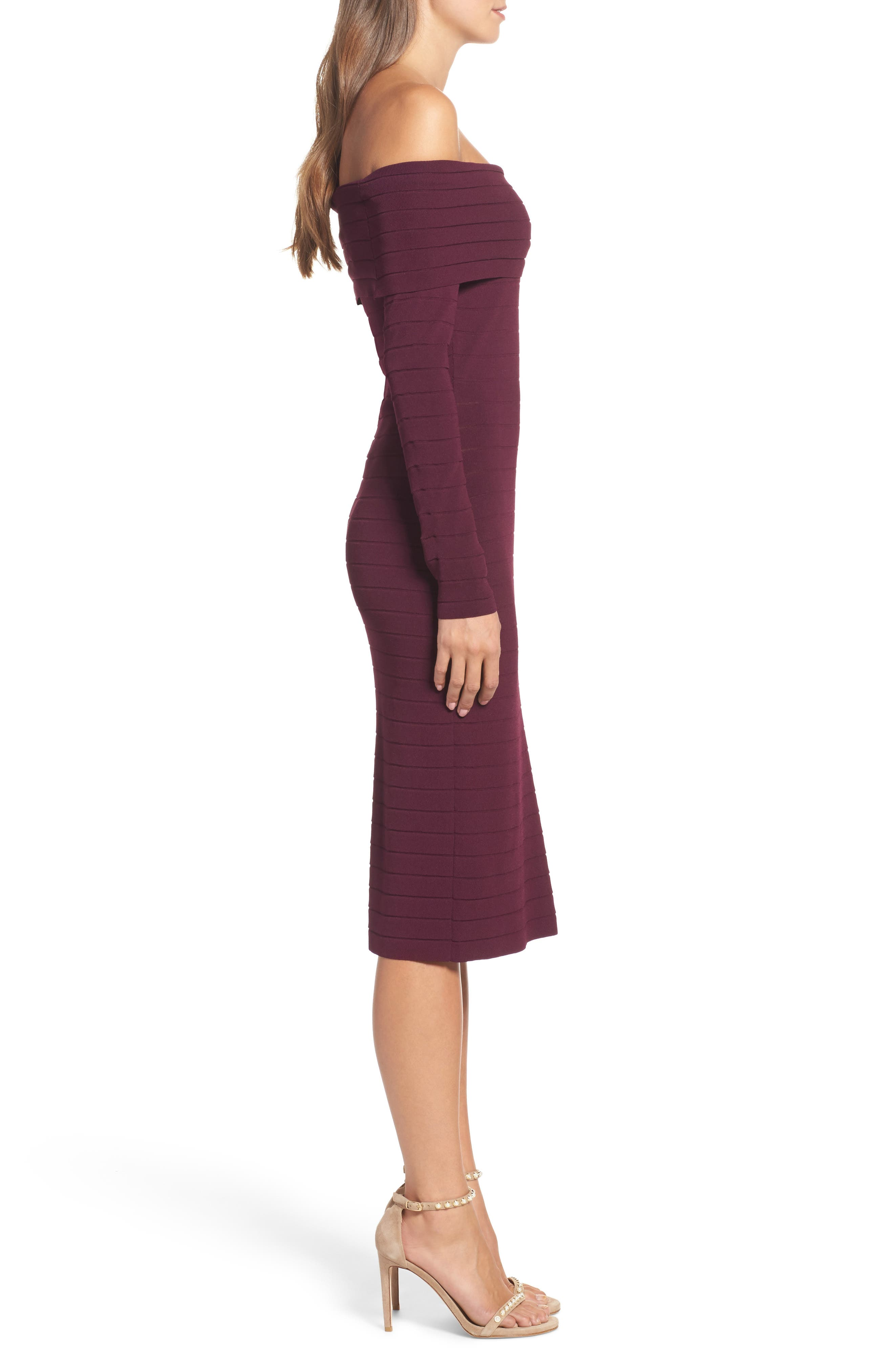 Bandage Midi Dress,                             Alternate thumbnail 14, color,
