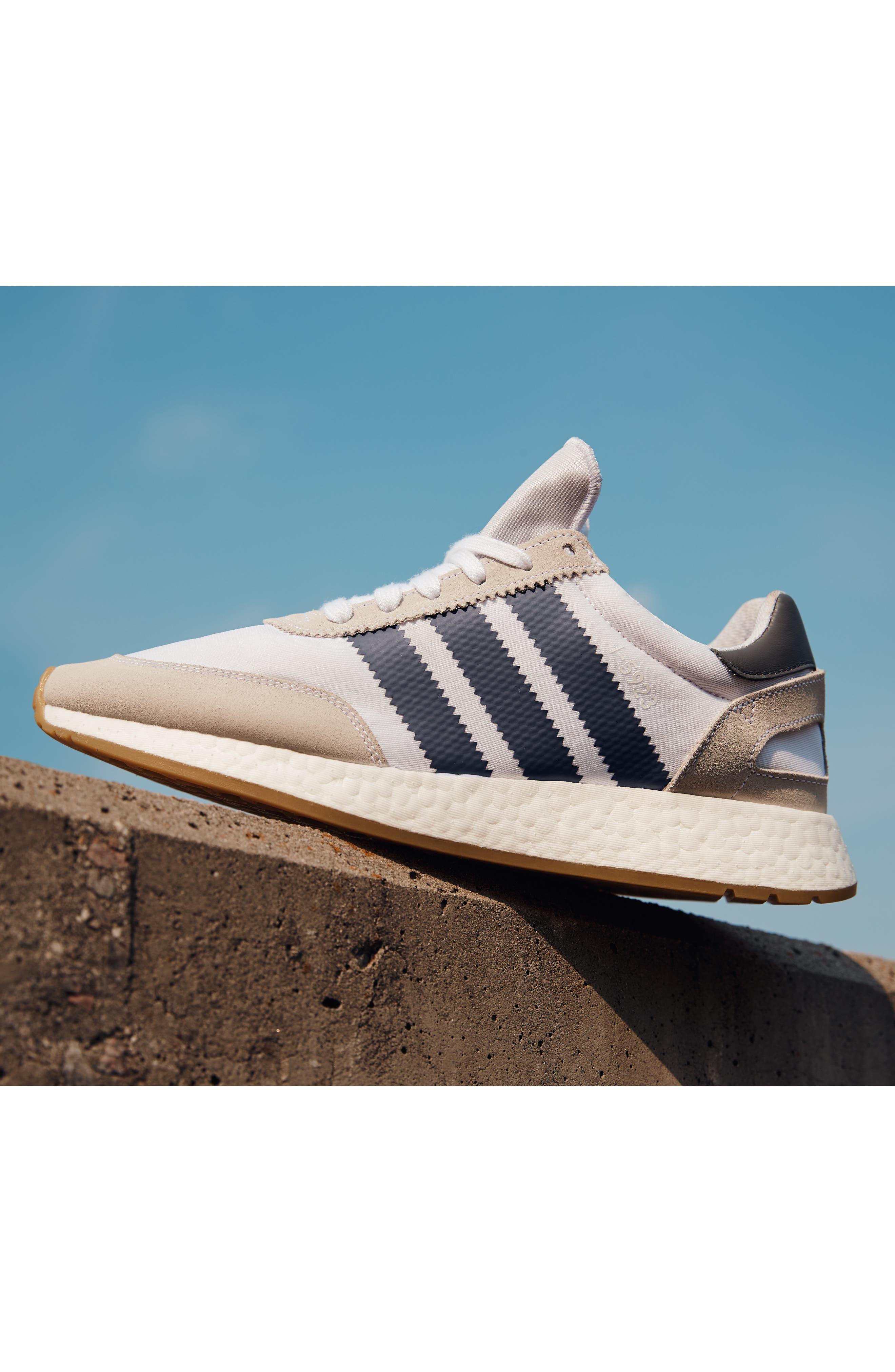 I-5923 Sneaker,                             Alternate thumbnail 9, color,                             BLACK/ BURGUNDY/ WHITE