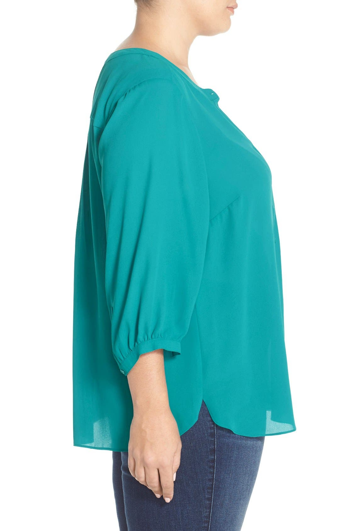 Henley Top,                             Alternate thumbnail 290, color,