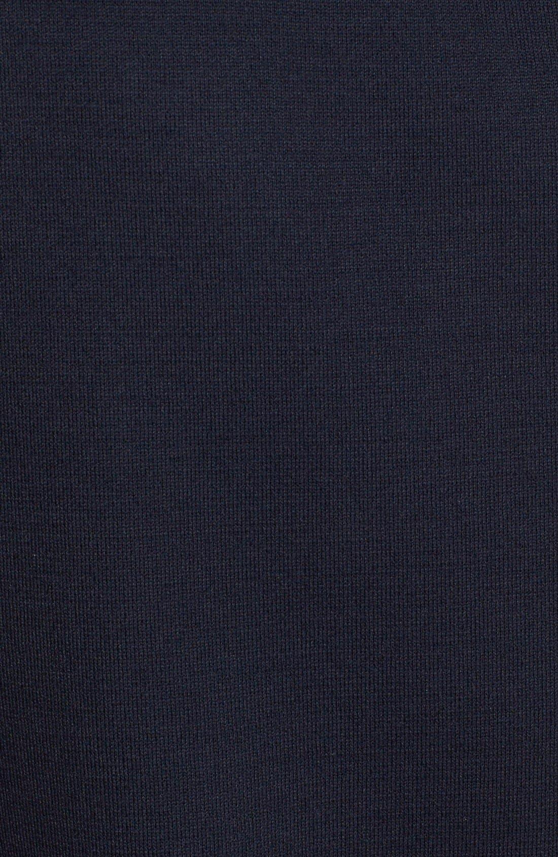 Milano Knit Contour Tank,                             Alternate thumbnail 6, color,                             NAVY