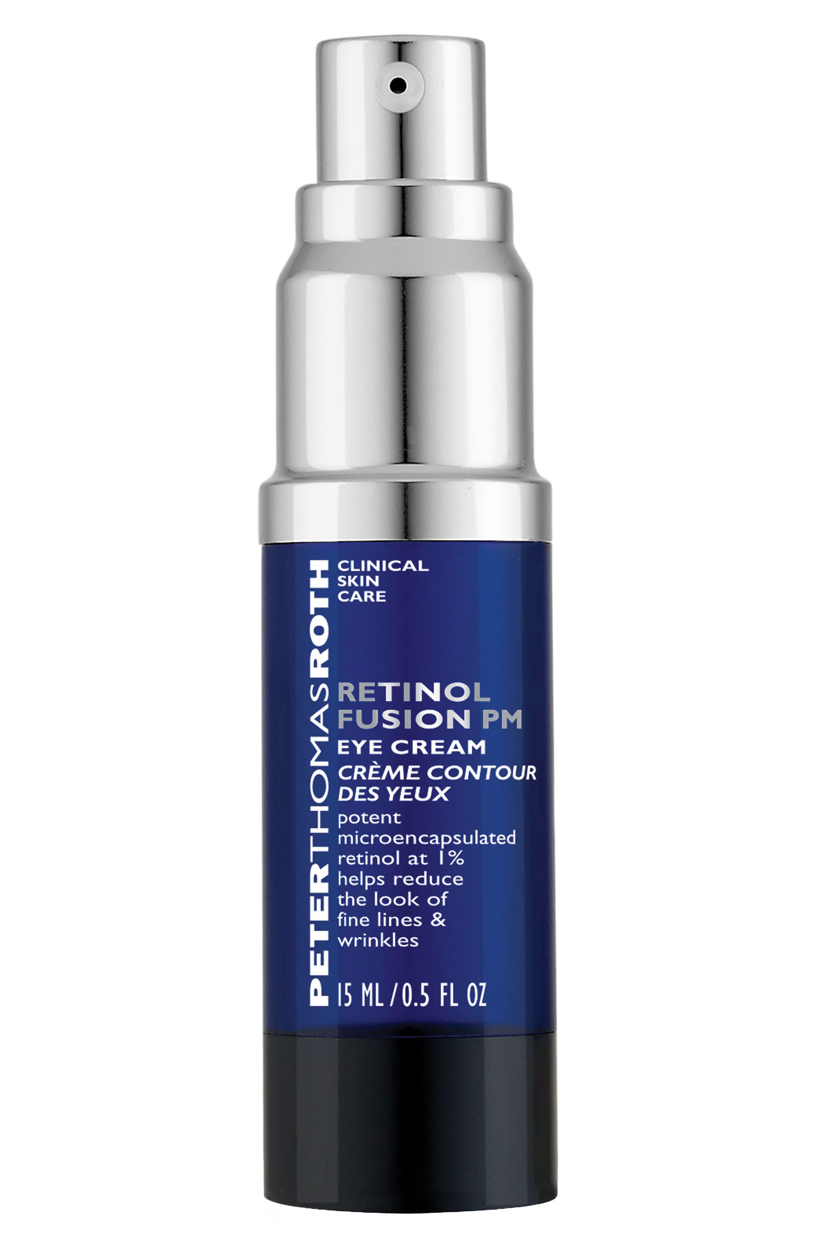 Retinol Fusion Eye Cream,                             Main thumbnail 1, color,                             NO COLOR
