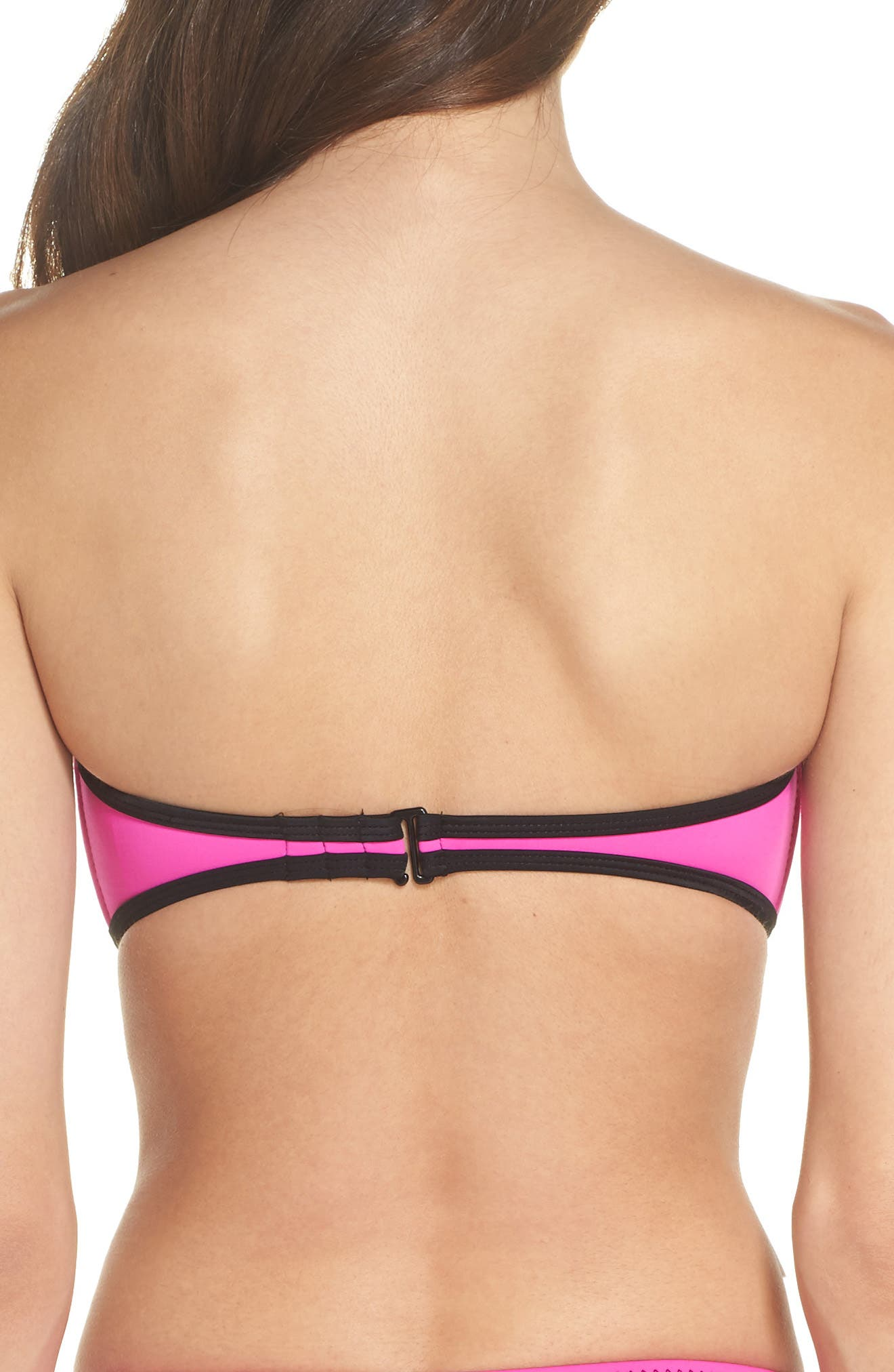 '80s Throwback Tainted Love Bikini Top,                             Alternate thumbnail 2, color,                             673